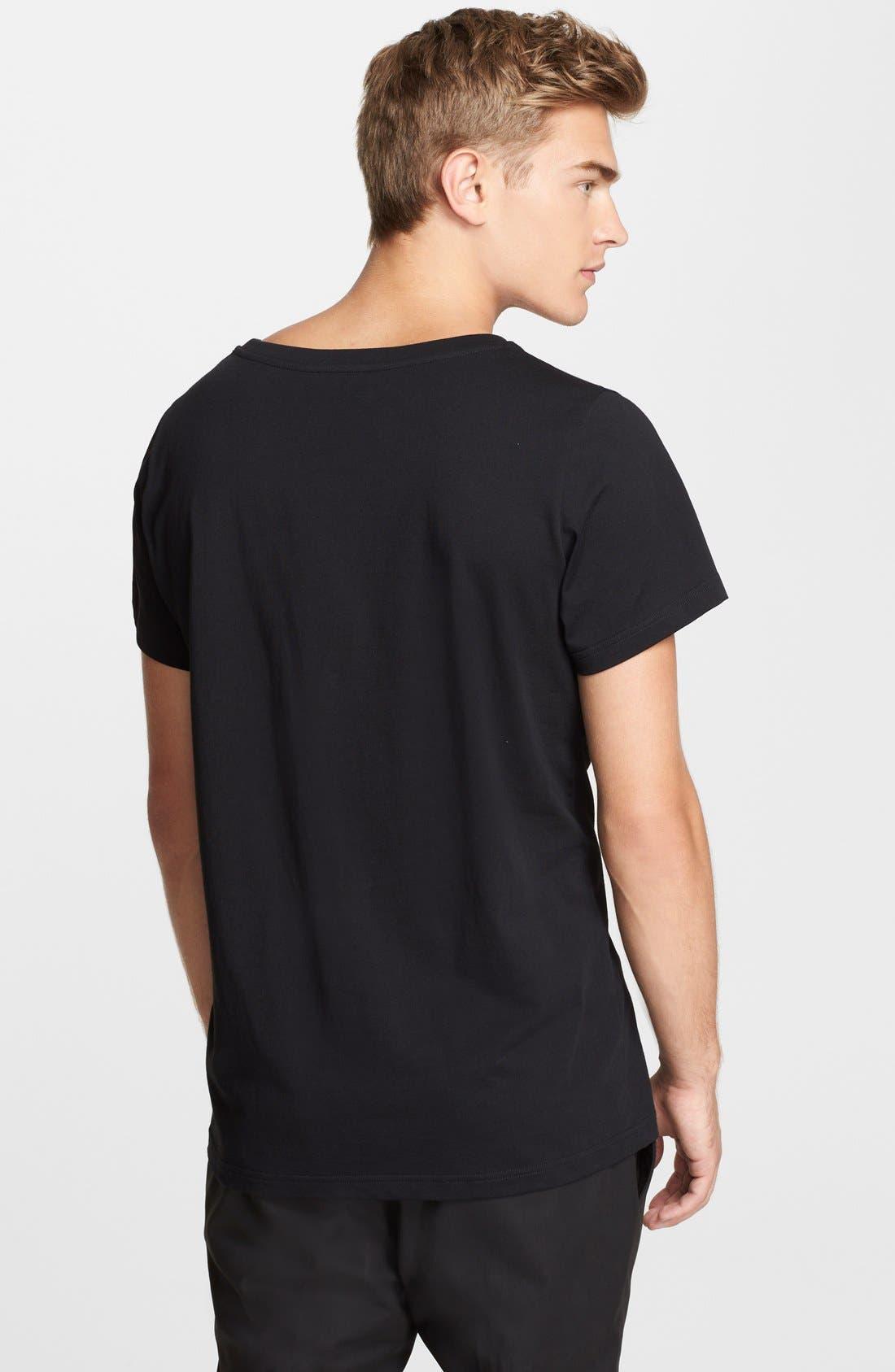'Milano' Logo T-Shirt,                             Alternate thumbnail 2, color,                             001