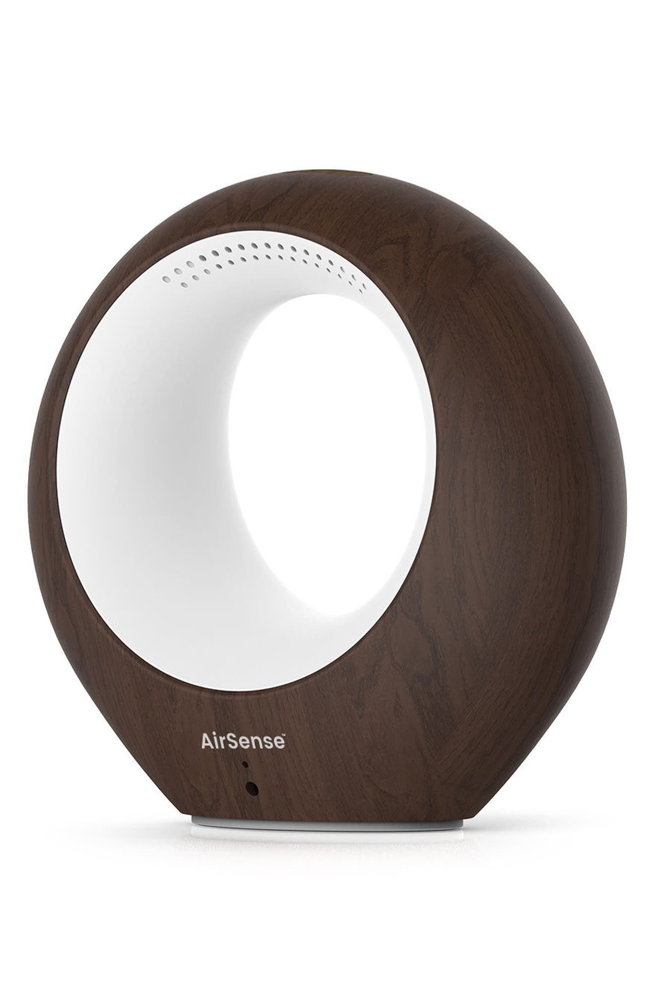 AirSense Air Purifier,                             Main thumbnail 1, color,                             DARK WOOD