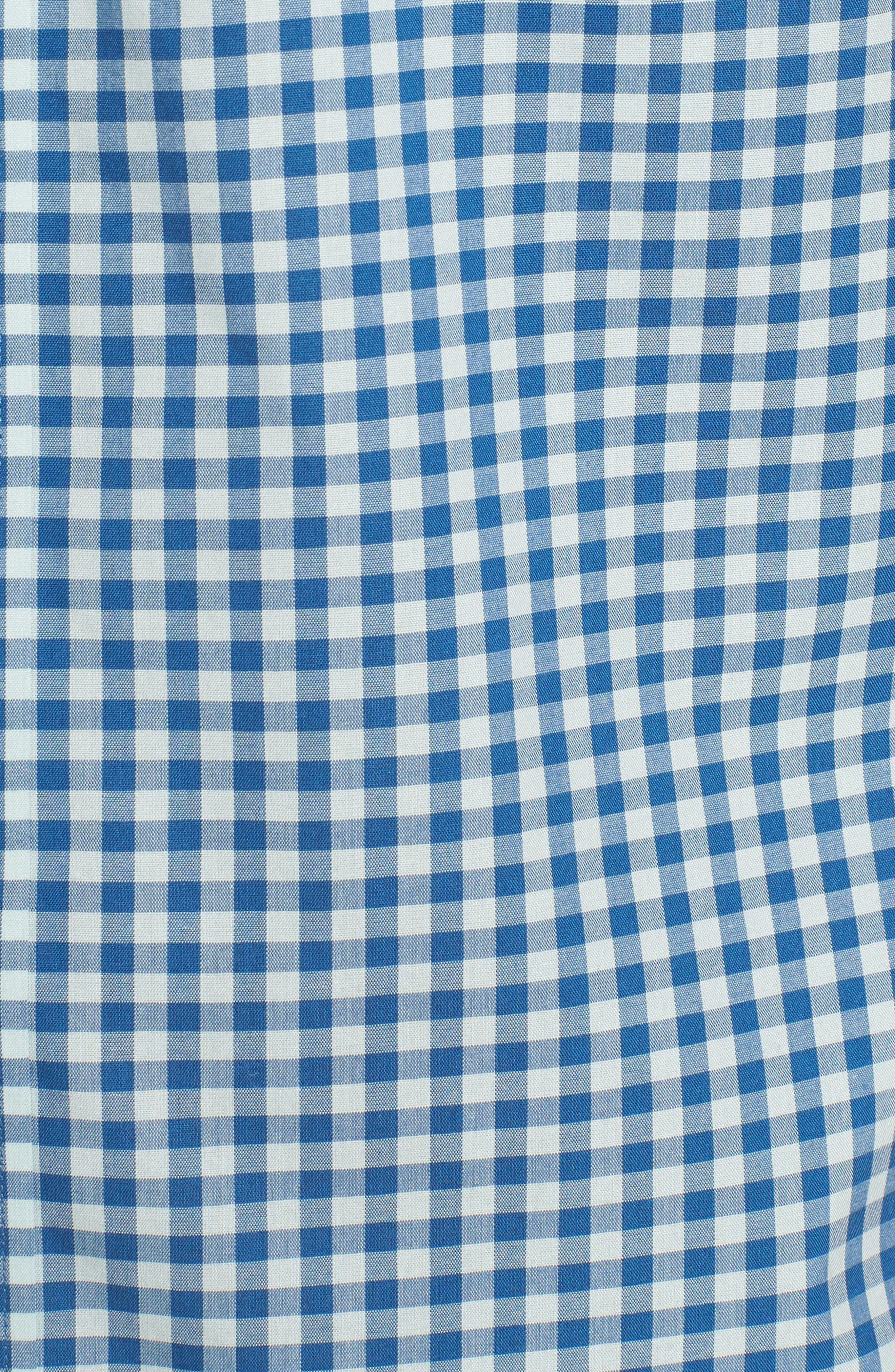 Regular Fit Gingham Sport Shirt,                             Alternate thumbnail 5, color,                             440