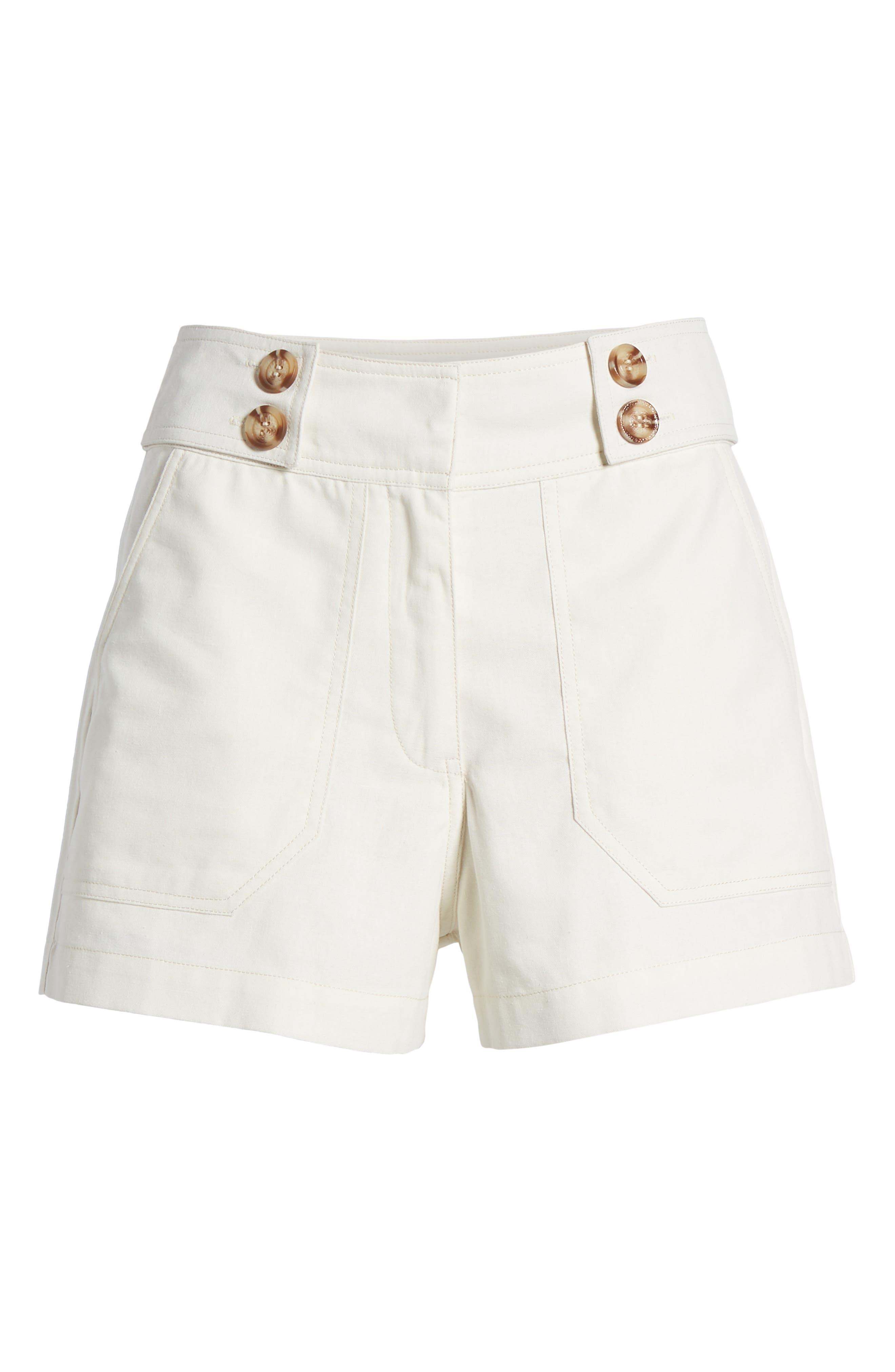 Button Tab Shorts,                             Alternate thumbnail 7, color,