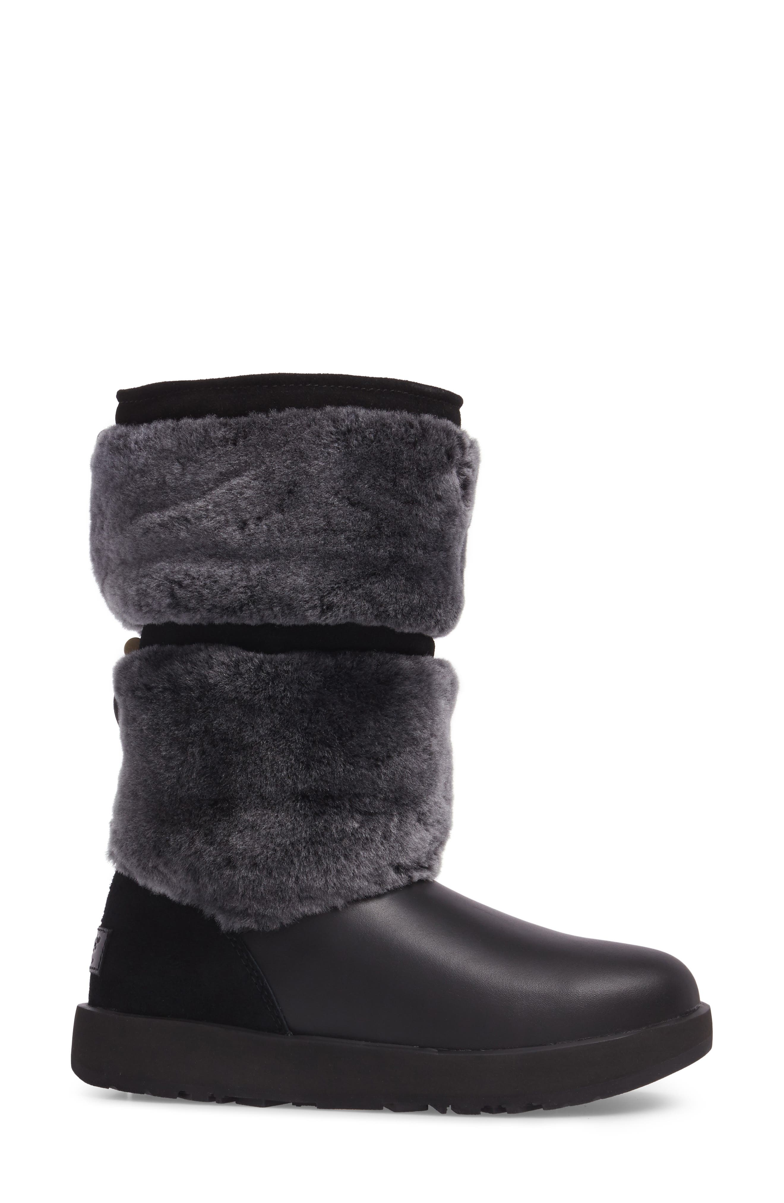 Reykir Waterproof Snow Boot,                             Alternate thumbnail 7, color,