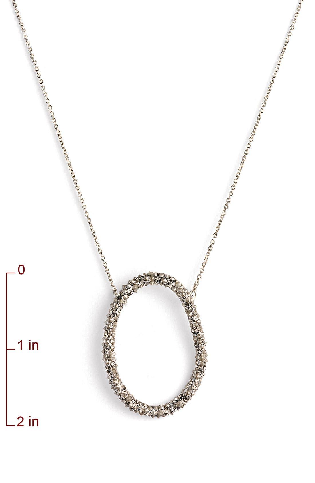 'Miss Havisham' Crystal Necklace,                             Alternate thumbnail 2, color,                             020