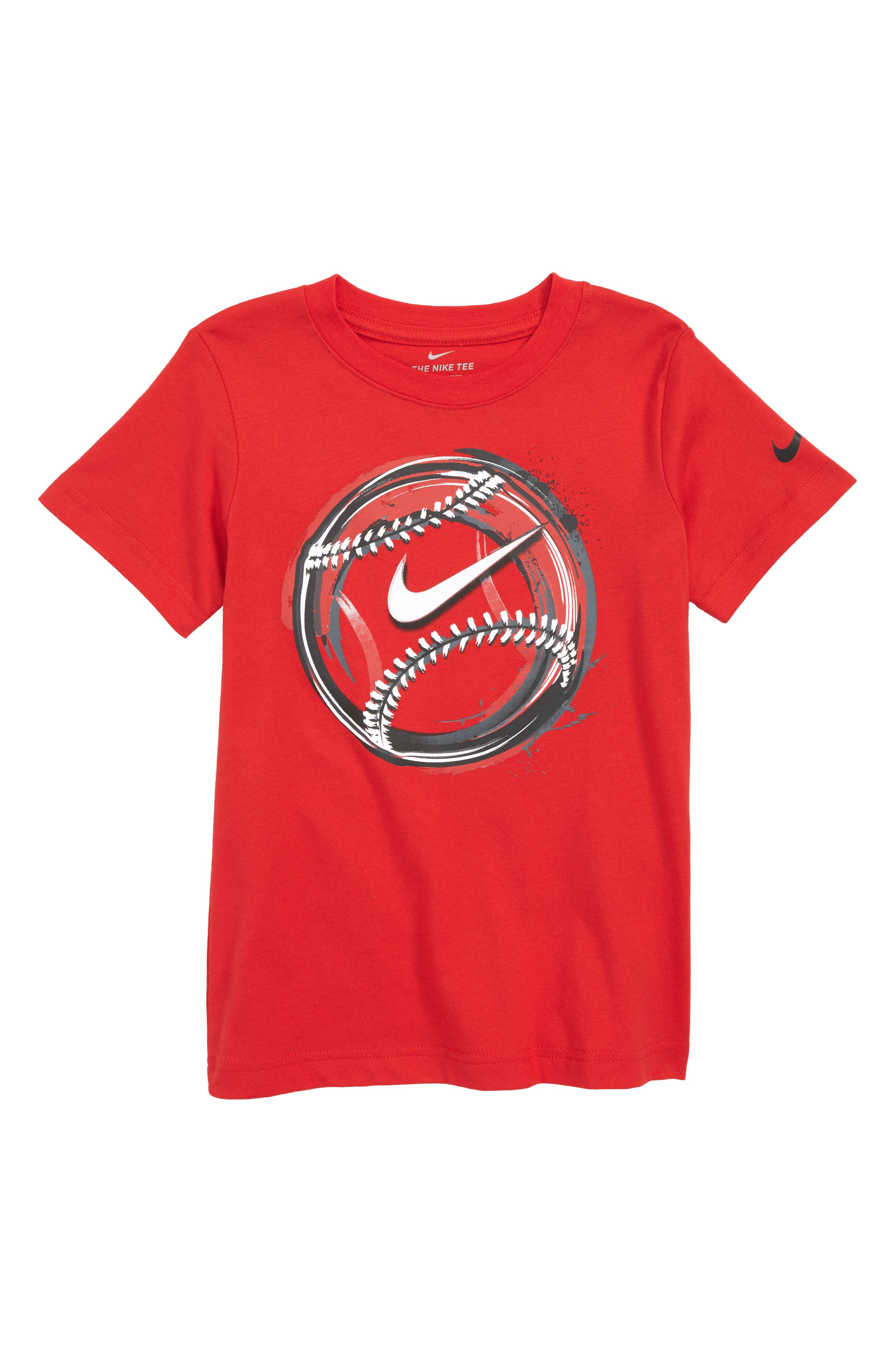 Brush Baseball Graphic T-Shirt,                             Main thumbnail 1, color,