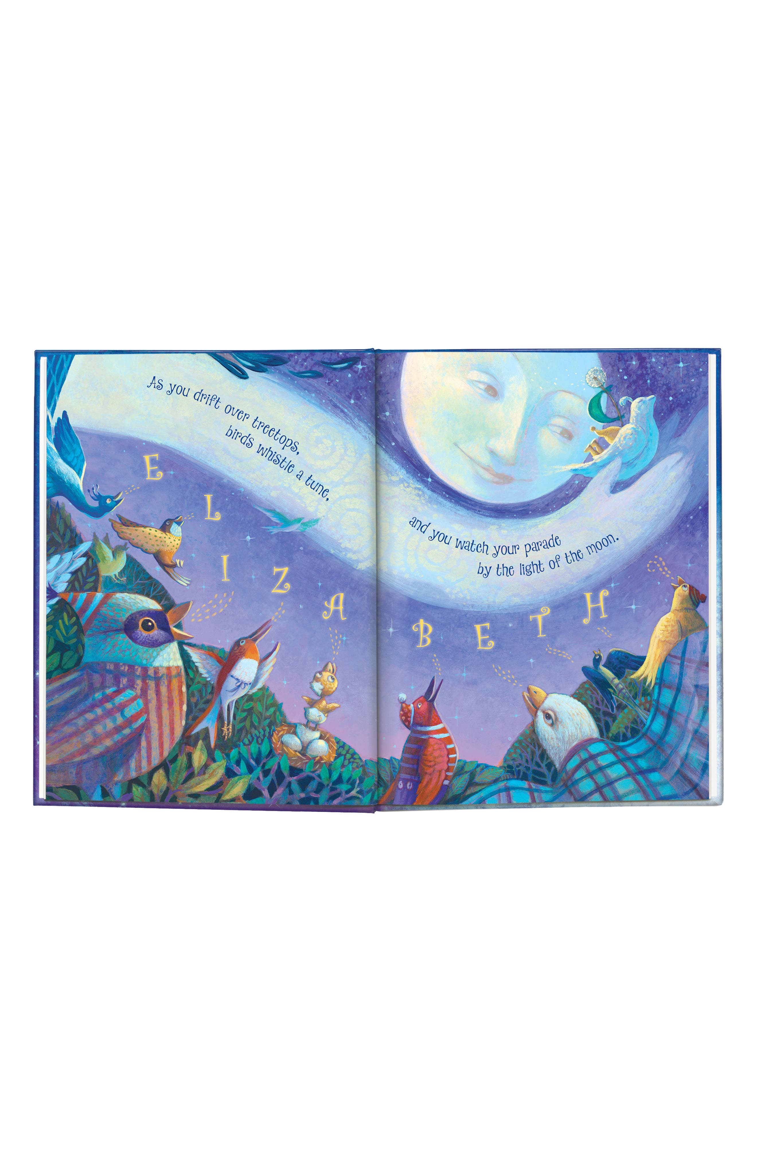 'Goodnight Little Me' Personalized Book,                             Alternate thumbnail 3, color,                             BLUE