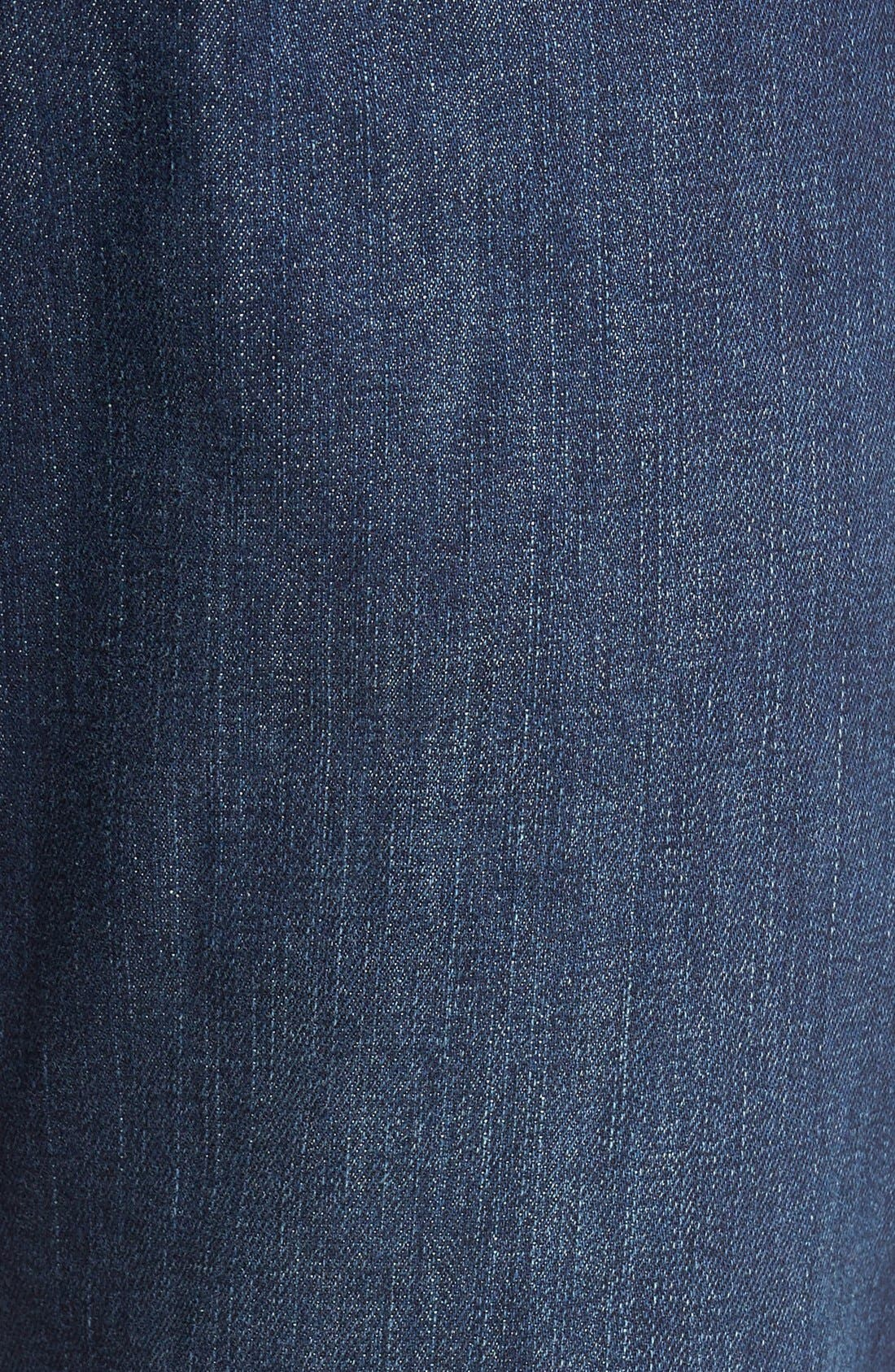 'Santorini' Relaxed Fit Jeans,                             Alternate thumbnail 6, color,                             DARK INDIGO WASH