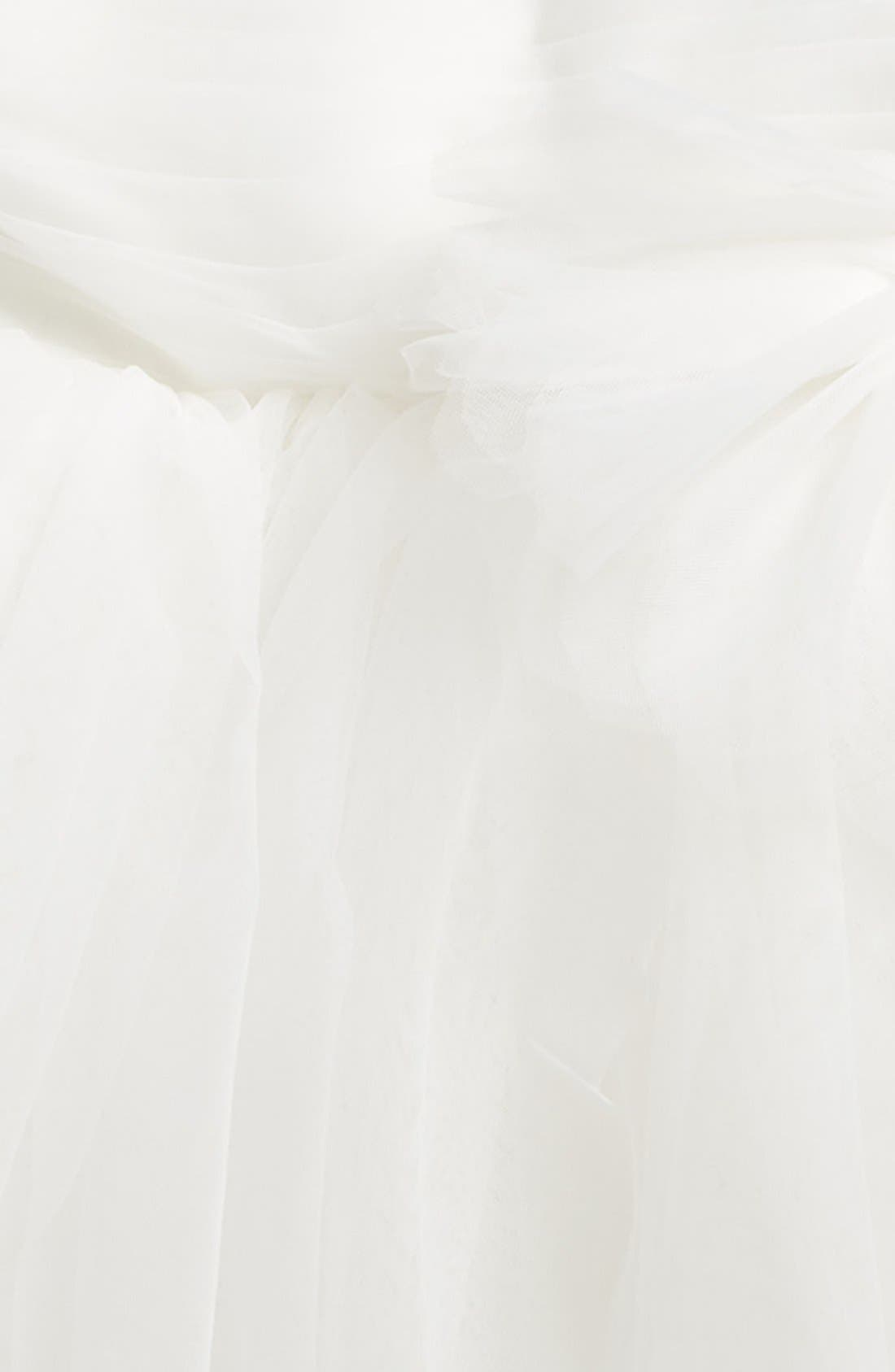 Fit & Flare Tulle Dress,                             Alternate thumbnail 3, color,