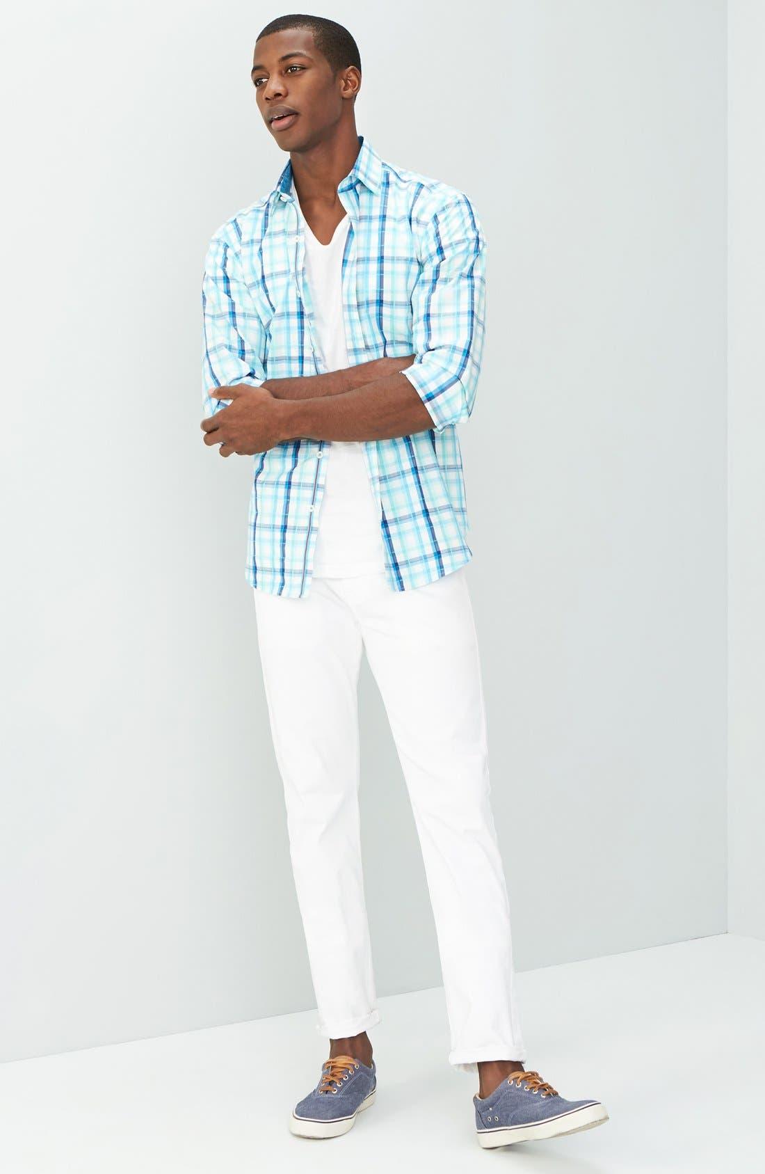 'Matchbox BES' Slim Fit Pants,                             Alternate thumbnail 192, color,