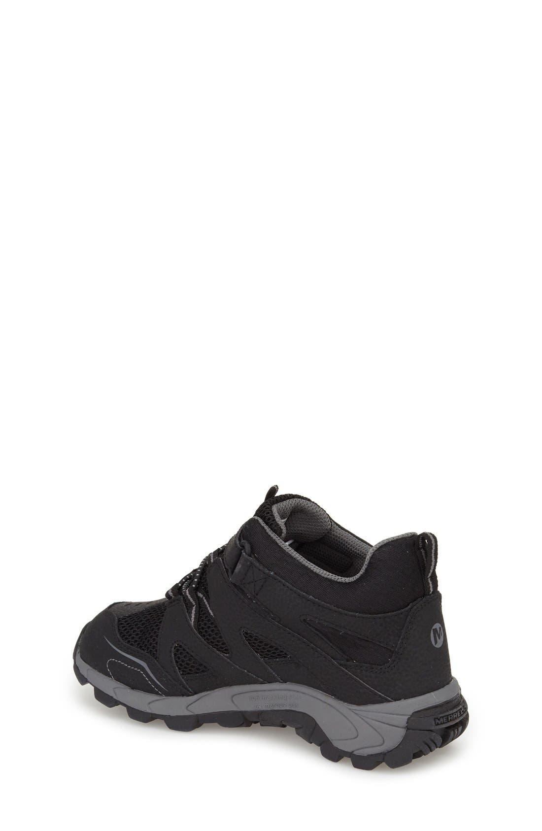 'Hilltop' Waterproof Sneaker,                             Alternate thumbnail 2, color,                             001