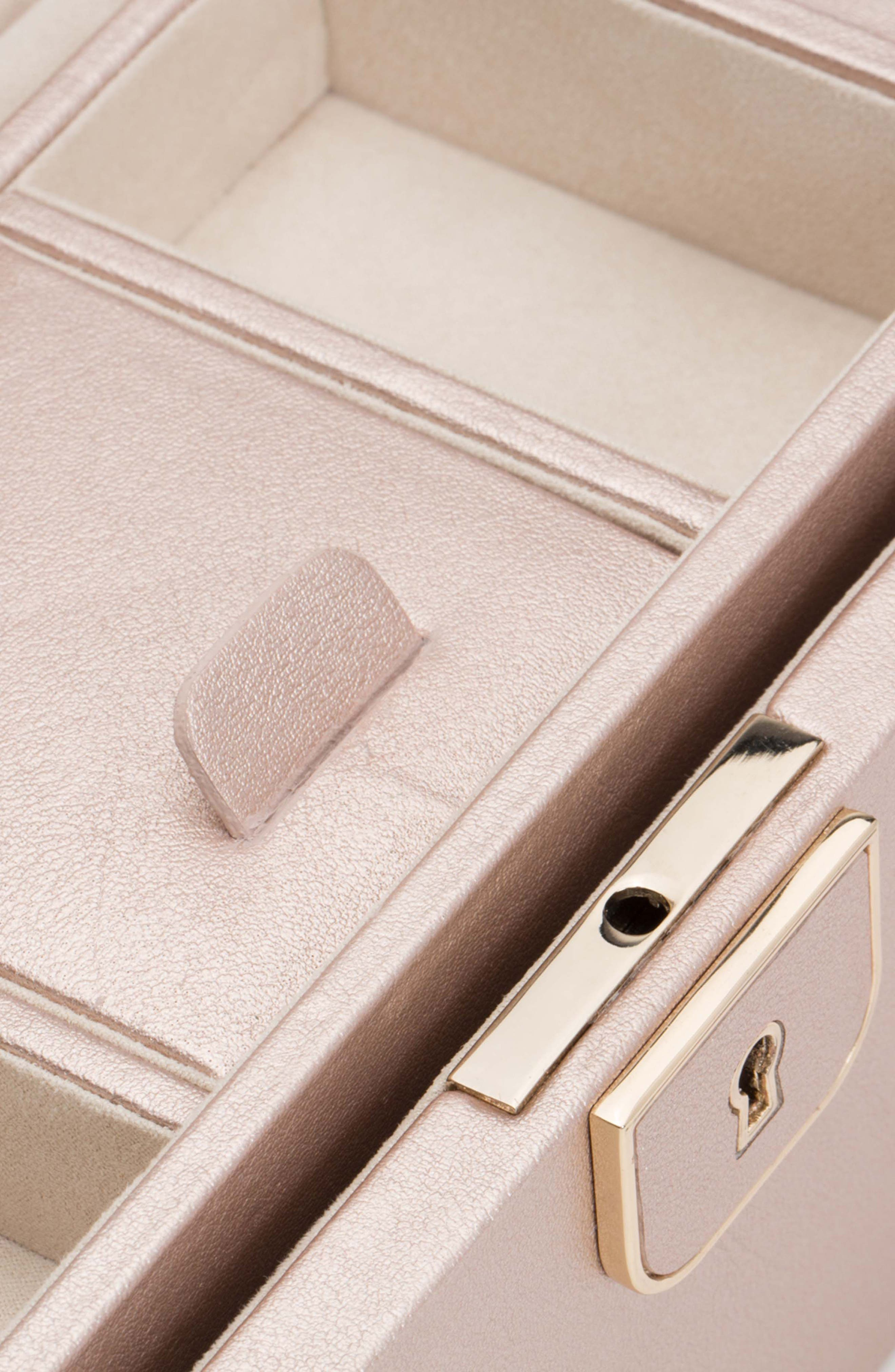 Palermo Small Jewelry Box,                             Alternate thumbnail 2, color,                             ROSE GOLD