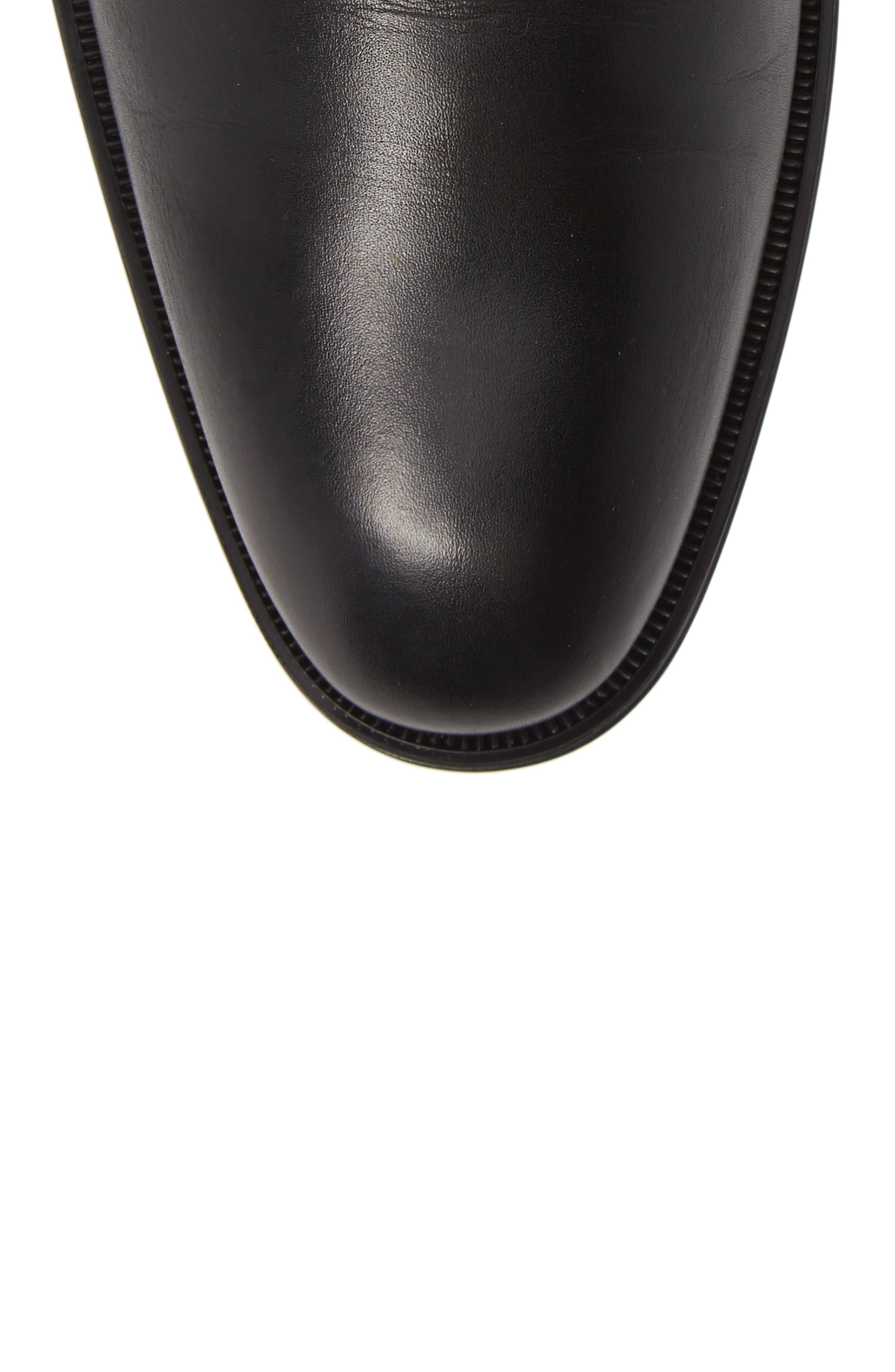 Daniel Weatherproof Zip Boot,                             Alternate thumbnail 5, color,                             BLACK