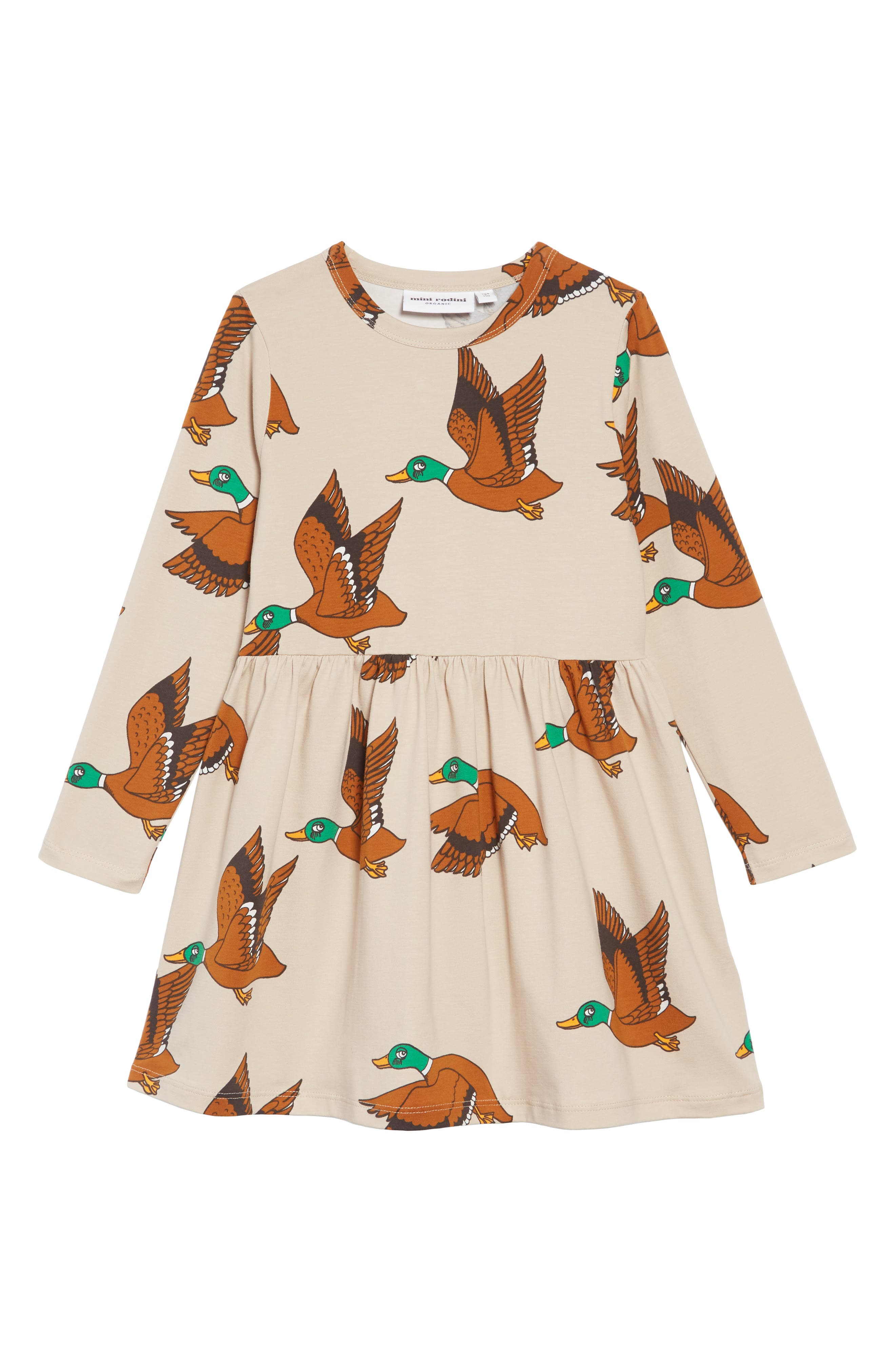Duck Dress,                             Main thumbnail 1, color,                             BEIGE