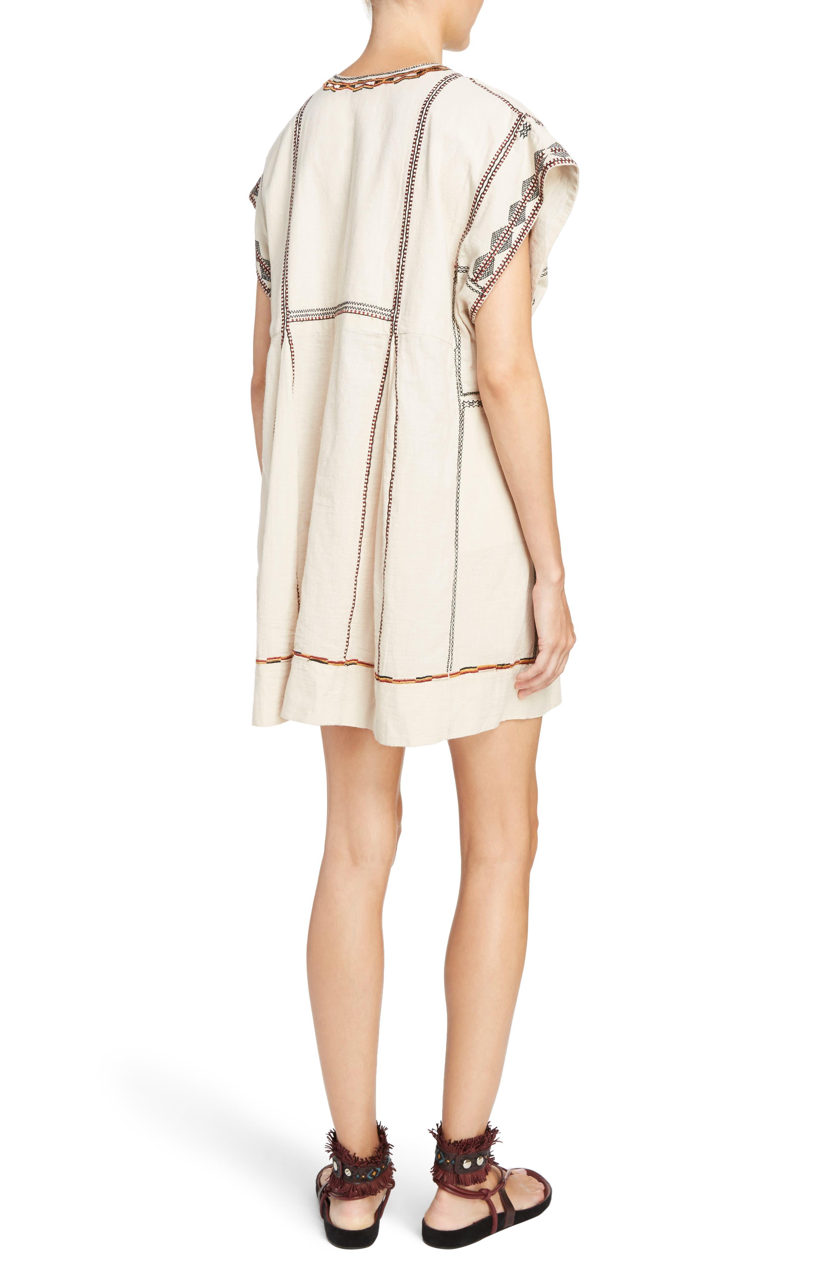 Belissa Embroidered Shift Dress,                             Alternate thumbnail 2, color,                             250