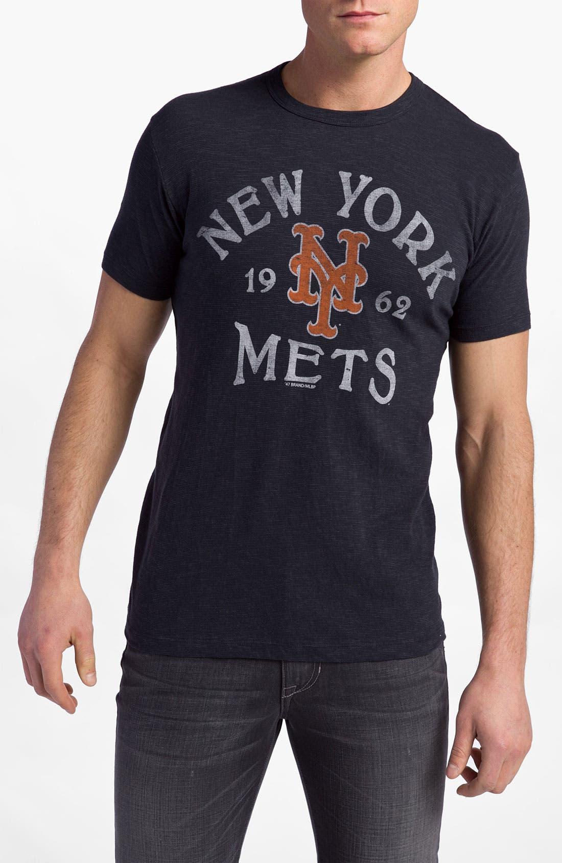 'Chicago Cubs' Regular Fit Crewneck T-Shirt,                             Main thumbnail 18, color,