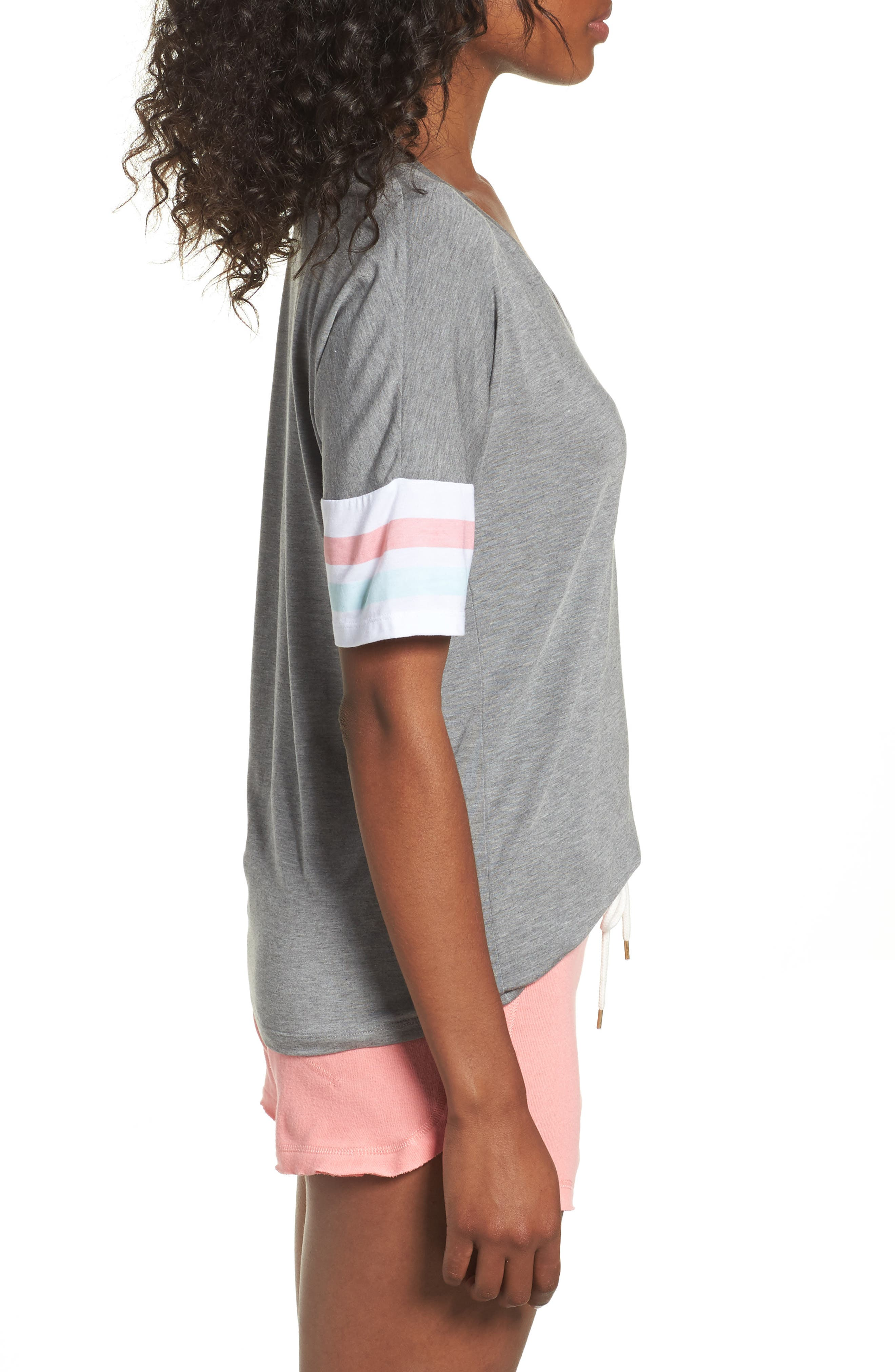 Relaxin' Lounge Tee,                             Alternate thumbnail 3, color,                             053