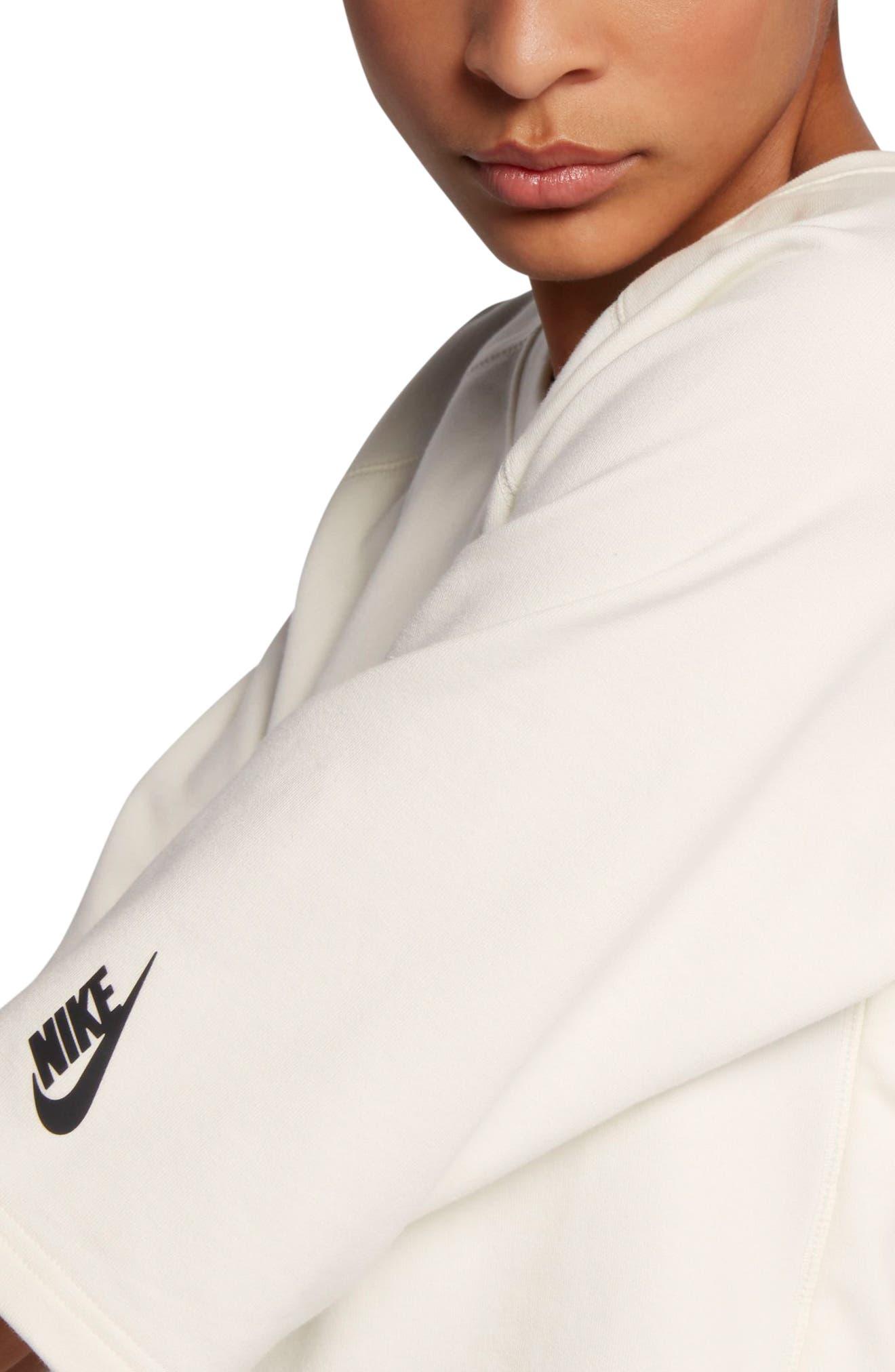 NikeLab Essential Fleece Top,                             Alternate thumbnail 3, color,                             250