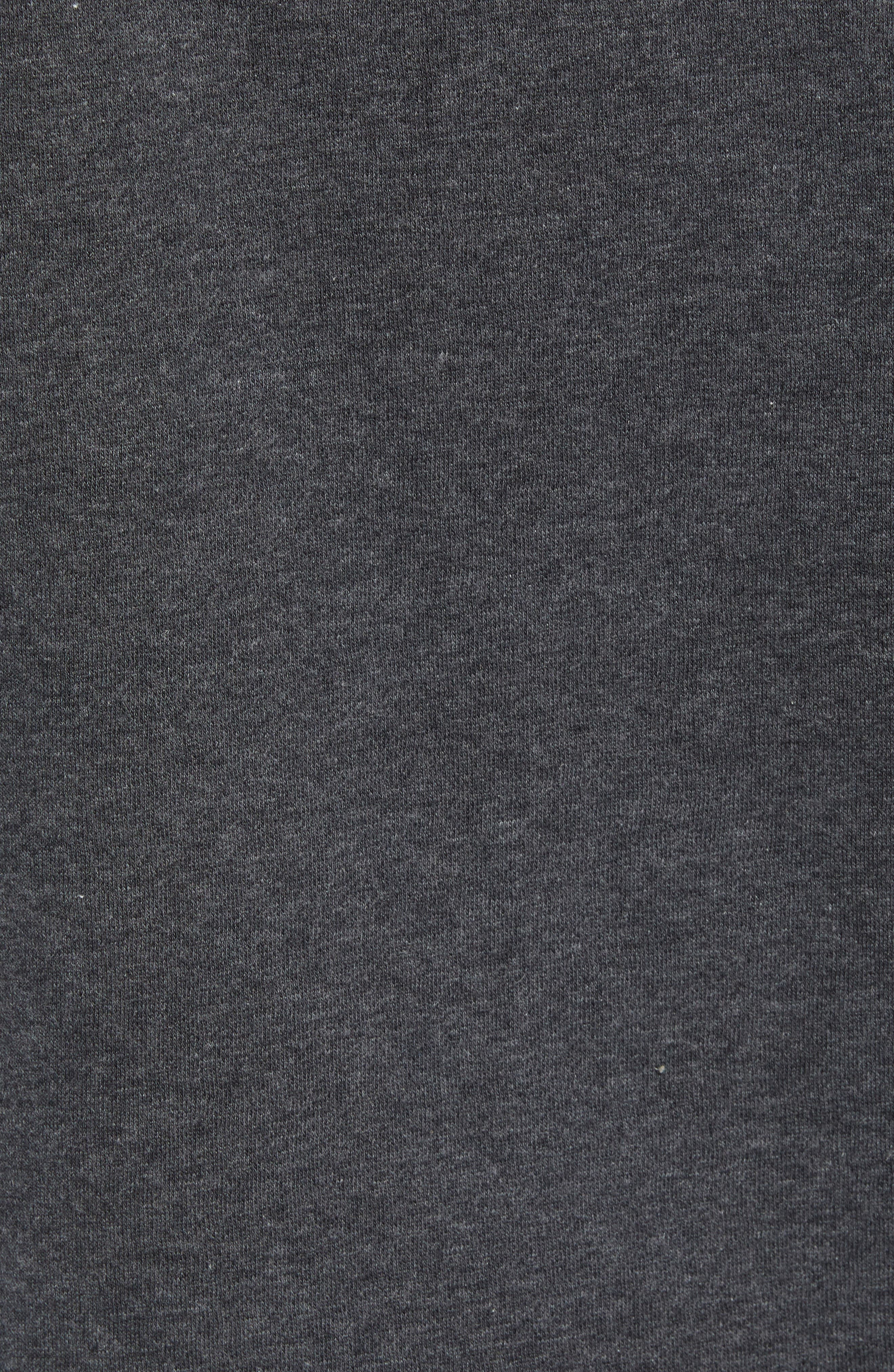 Alphabet City Fleece Pullover,                             Alternate thumbnail 7, color,                             TNF DARK GREY HEATHER