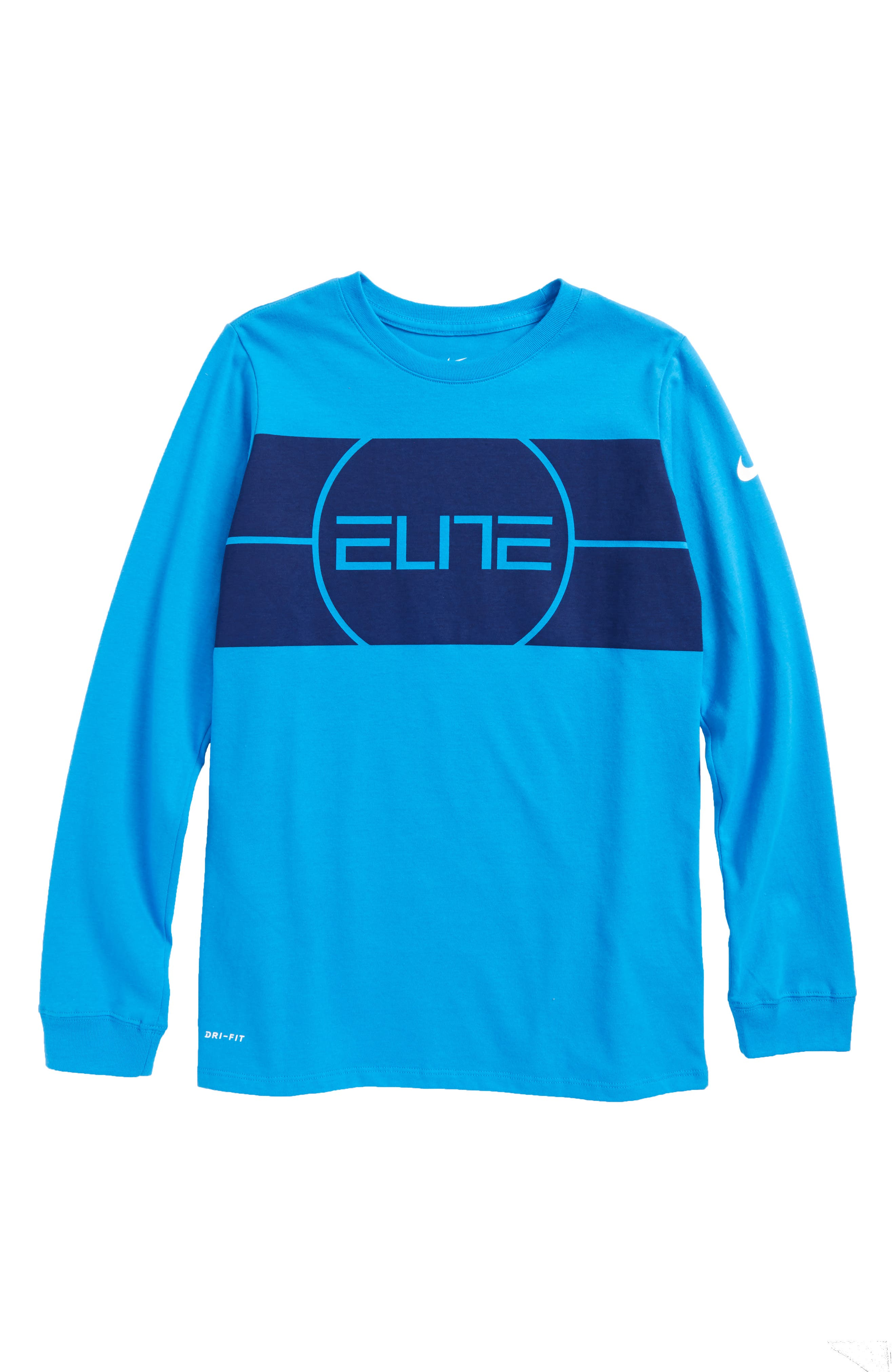 Dry Elite Logo T-Shirt,                             Main thumbnail 3, color,