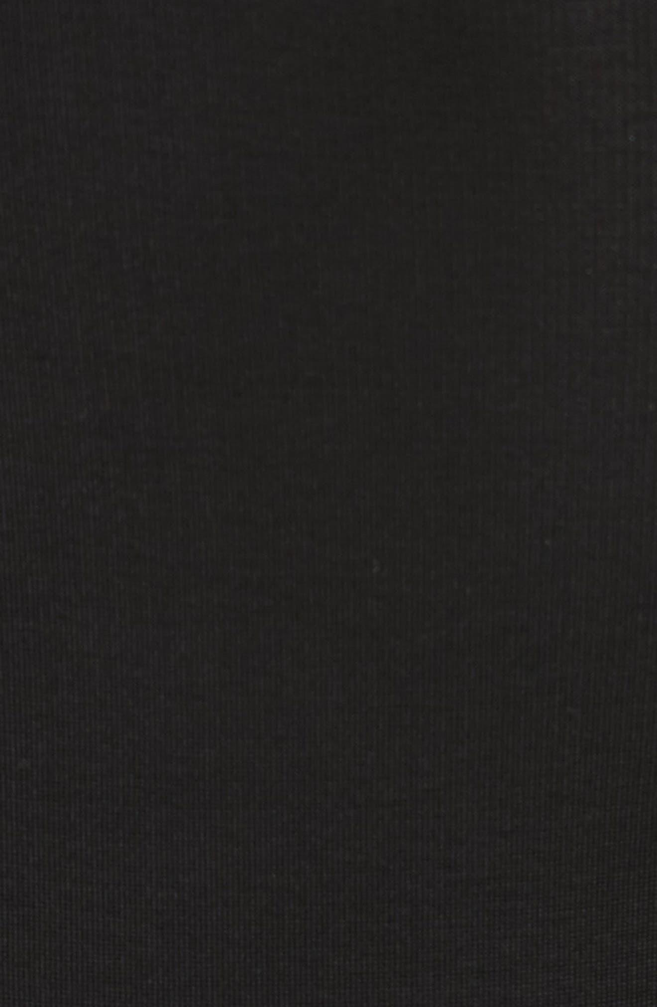 Fallon Slit Skirt Jersey Maxi Dress,                             Alternate thumbnail 5, color,                             001