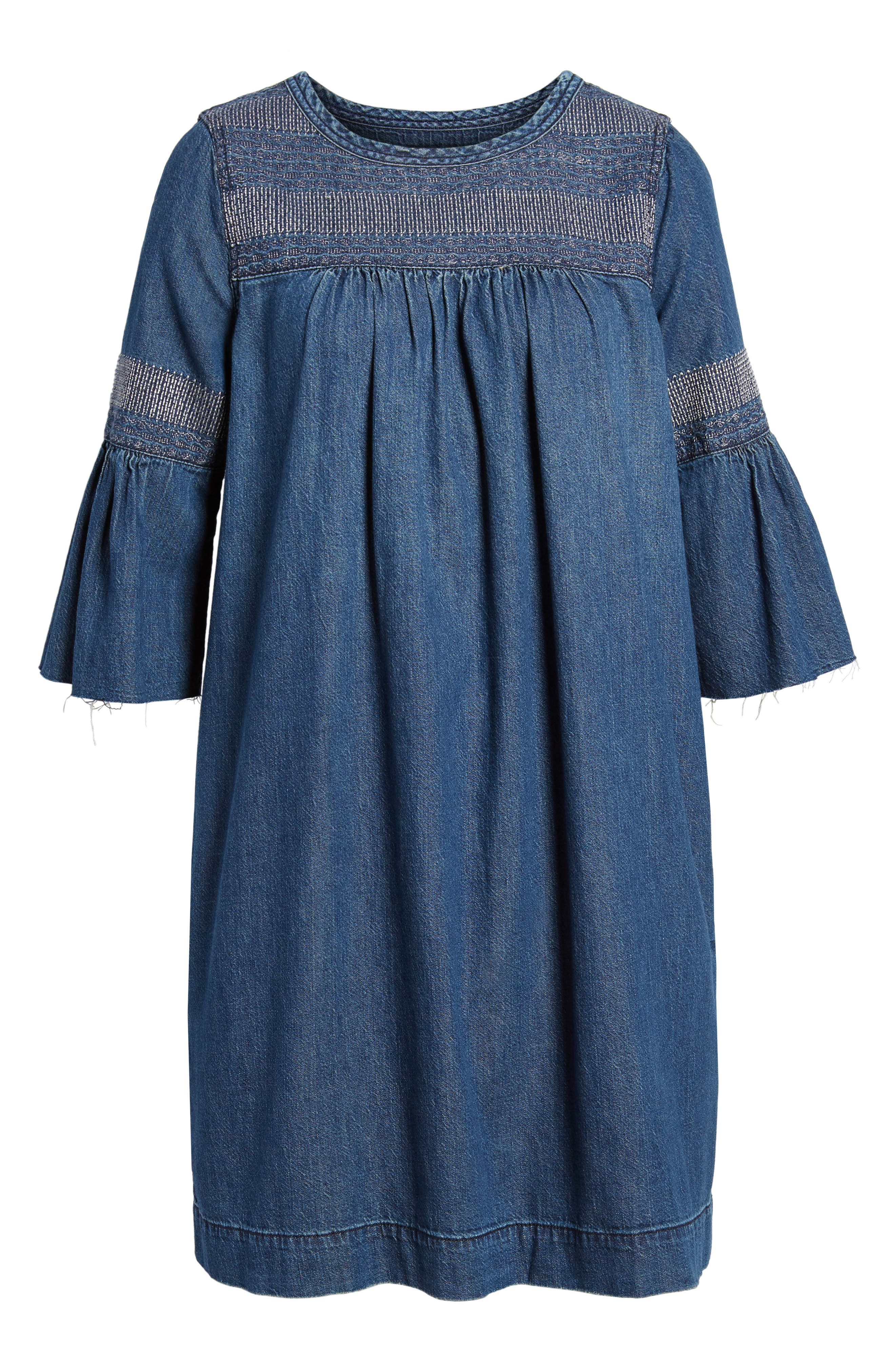 The Abigail Embroidered Dress,                             Alternate thumbnail 6, color,