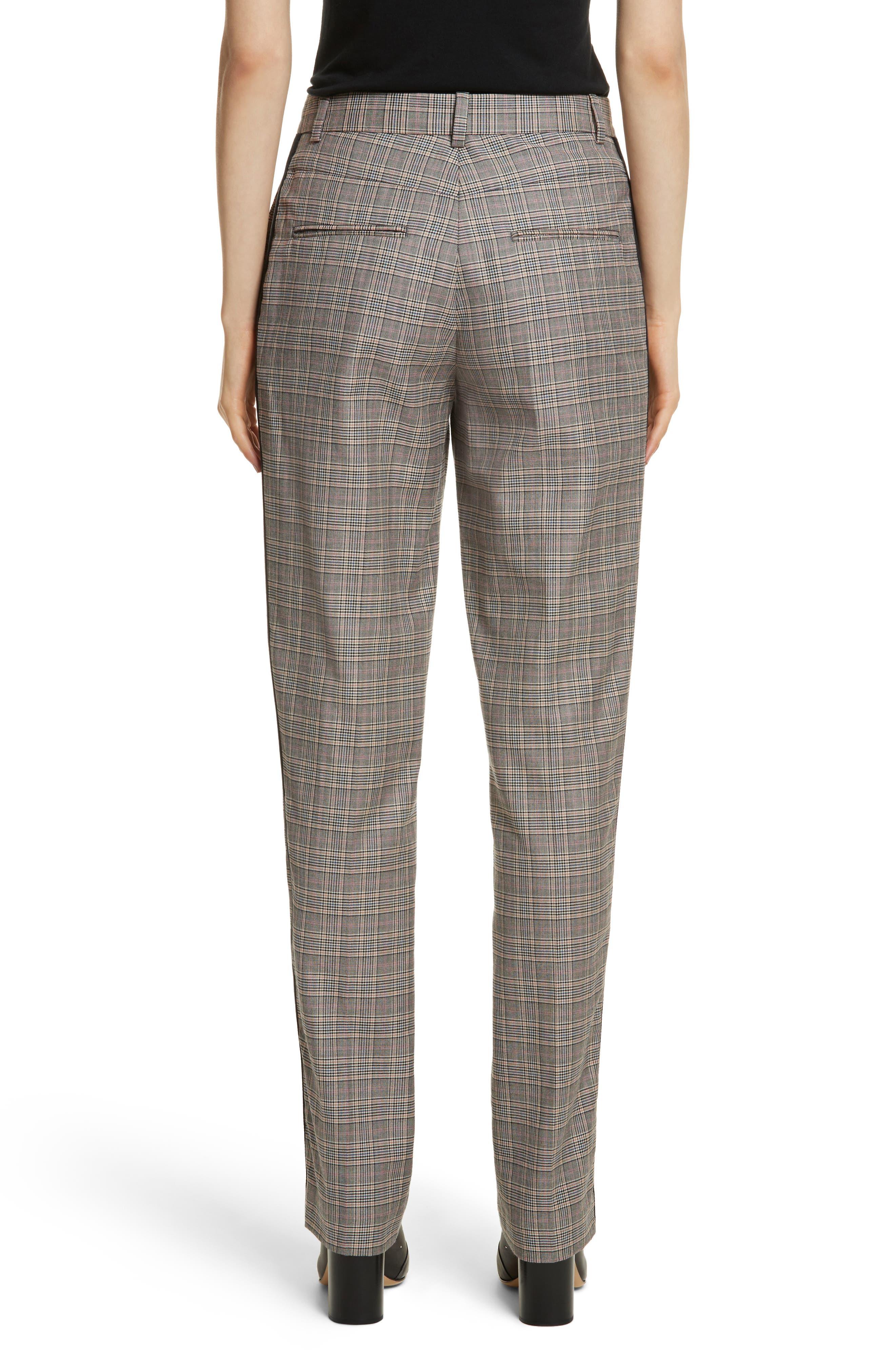 Oman Side Stripe Wool Blend Pants,                             Alternate thumbnail 2, color,                             017