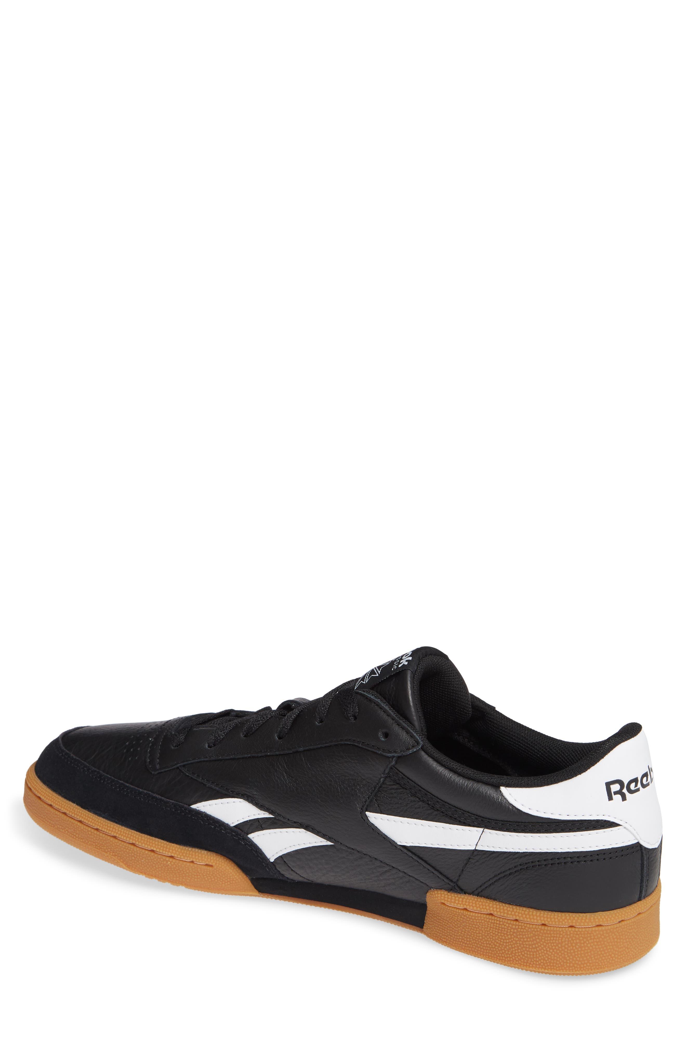 Revenge Plus Sneaker,                             Alternate thumbnail 2, color,                             BLACK/ WHITE/ GUM