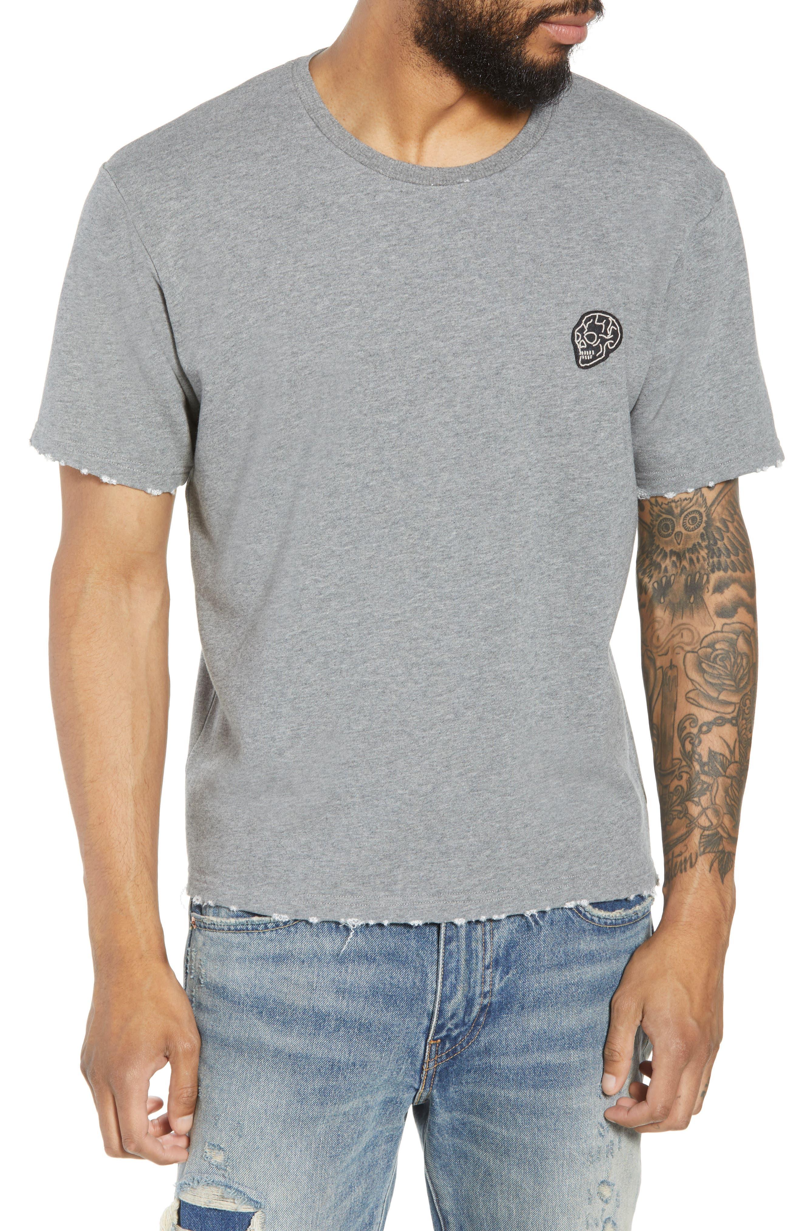 Classic Fit Short Sleeve Sweatshirt,                             Main thumbnail 1, color,                             020