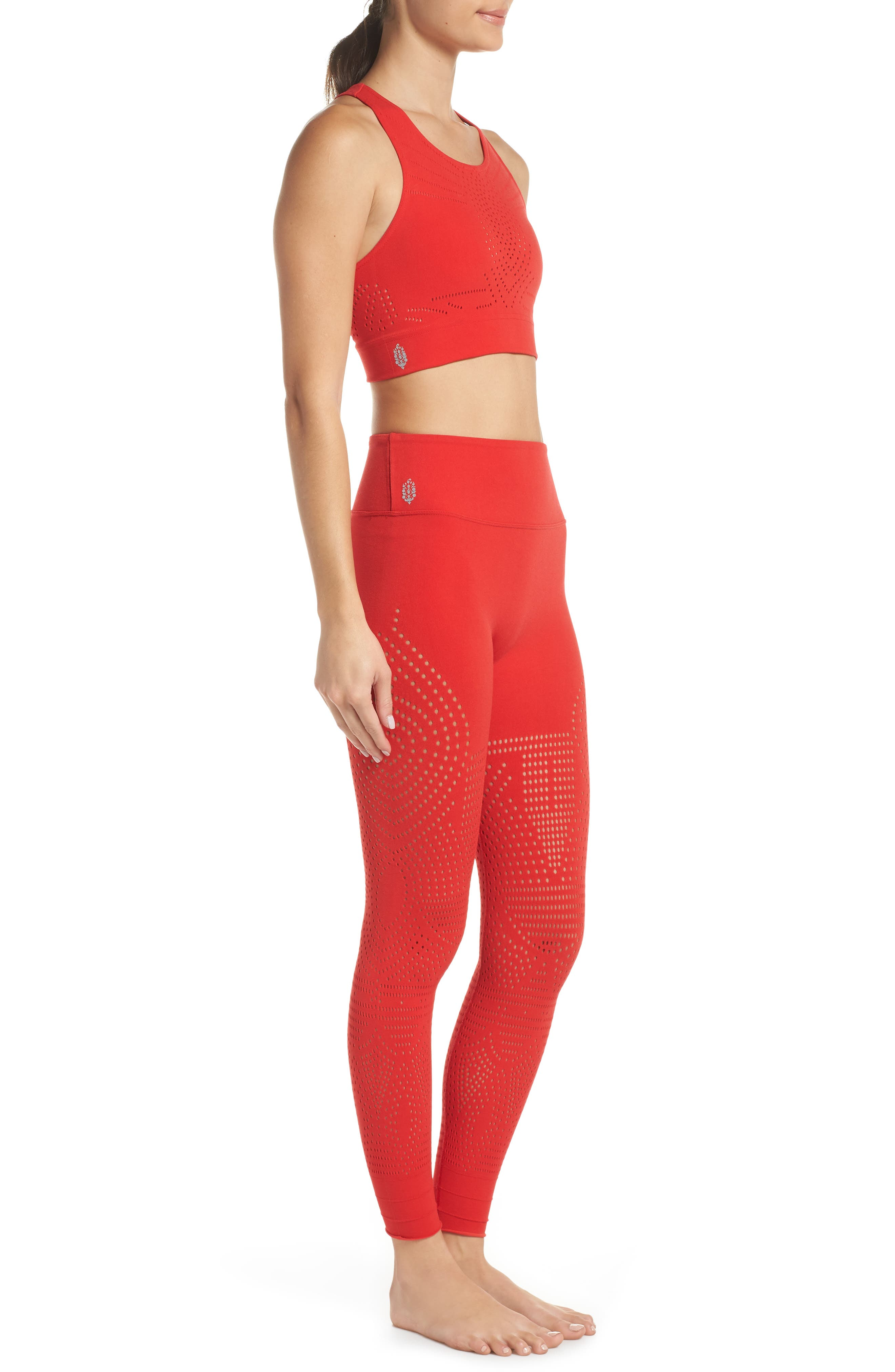FP Movement Ecology Sports Bra,                             Alternate thumbnail 10, color,                             RED