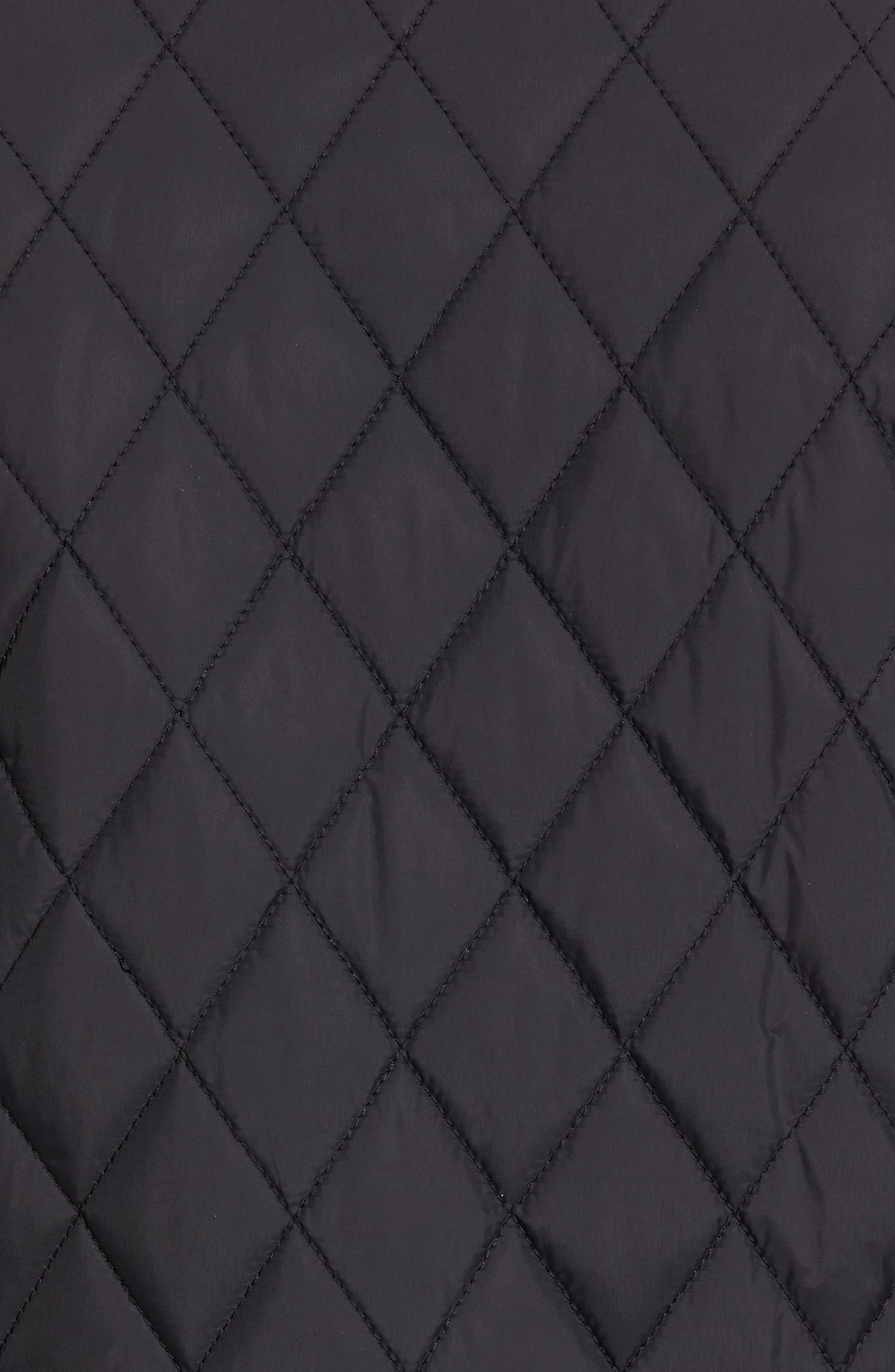 Quilted Moto Jacket,                             Alternate thumbnail 7, color,