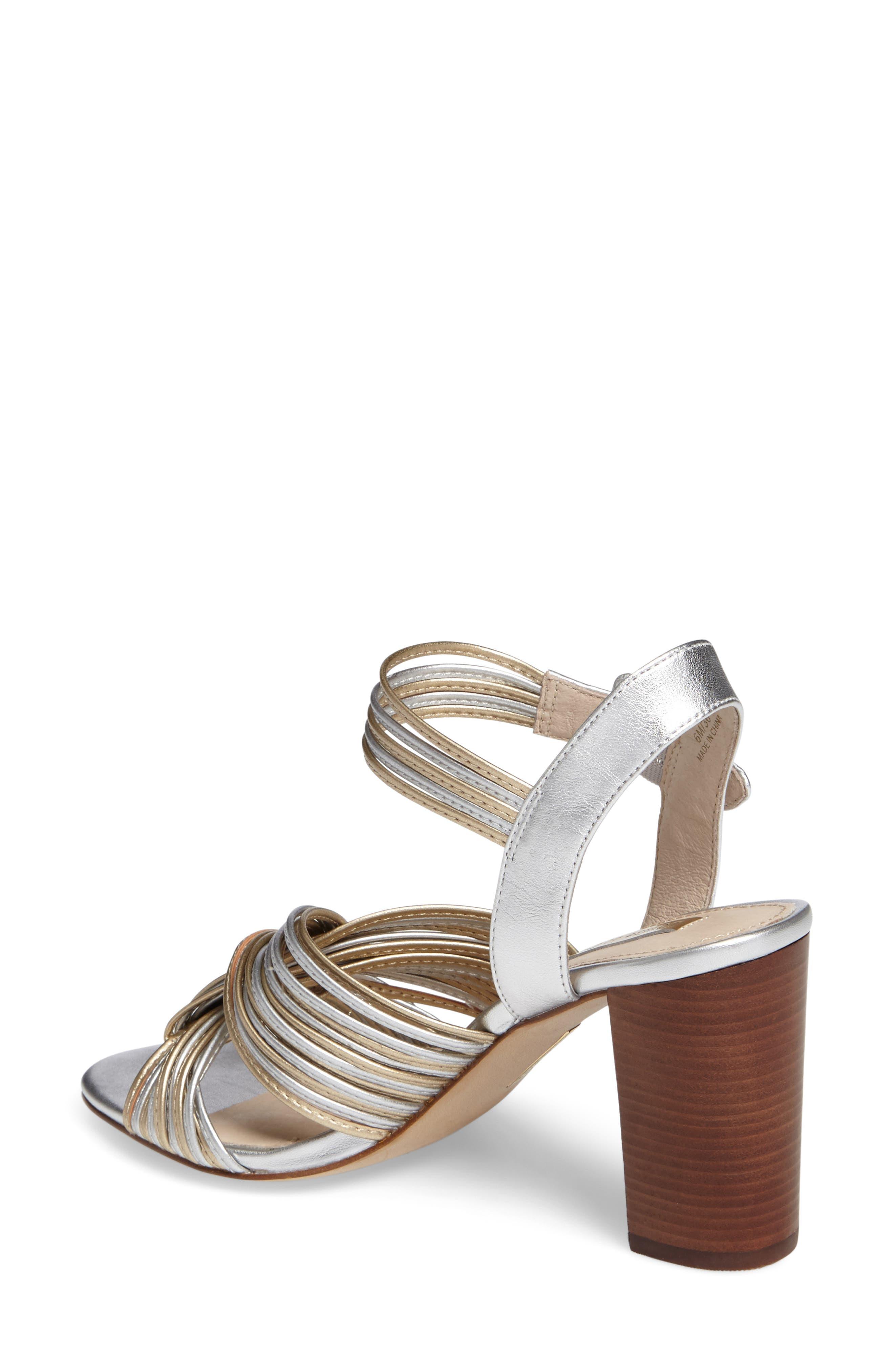 Kamden Knotted Block Heel Sandal,                             Alternate thumbnail 2, color,                             711