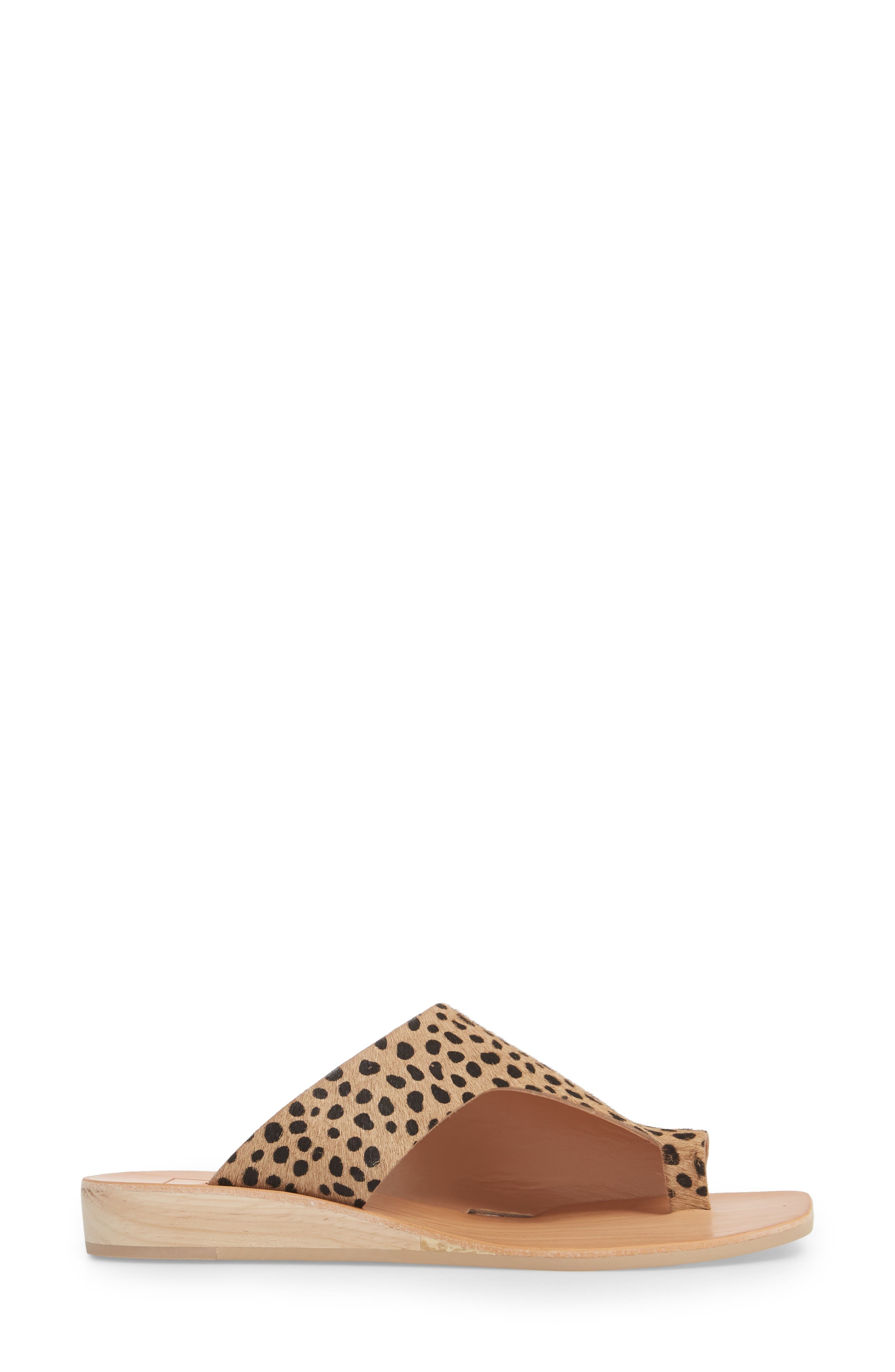 Hazle Genuine Calf Hair Sandal,                             Alternate thumbnail 9, color,