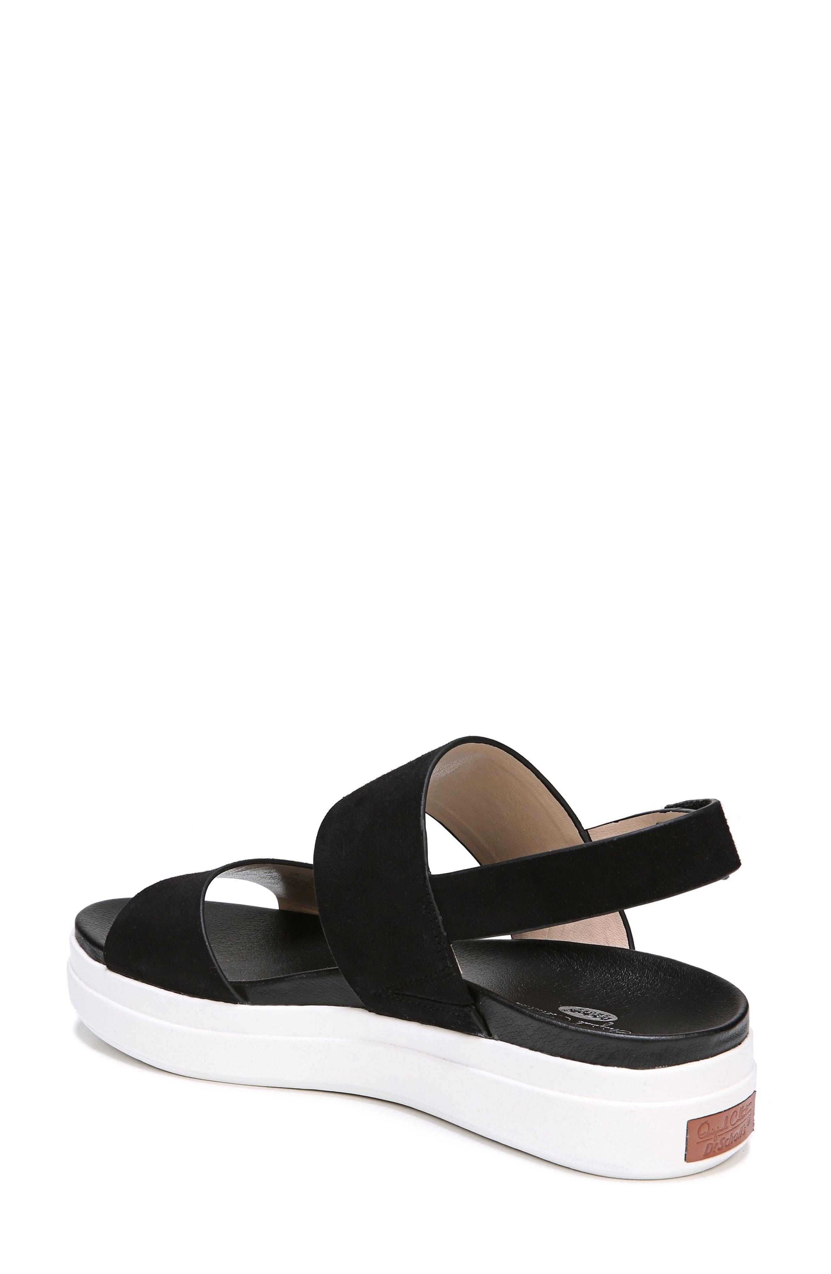 Scout Platform Sandal,                             Alternate thumbnail 2, color,                             BLACK SUEDE