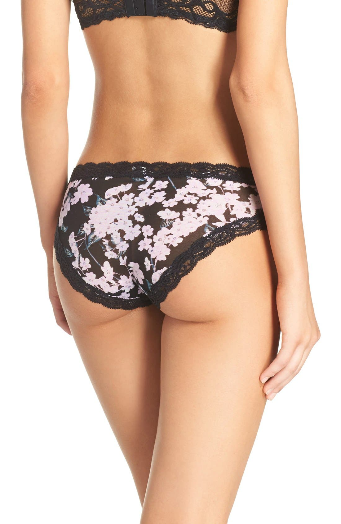 Feathers Hipster Briefs,                             Alternate thumbnail 105, color,