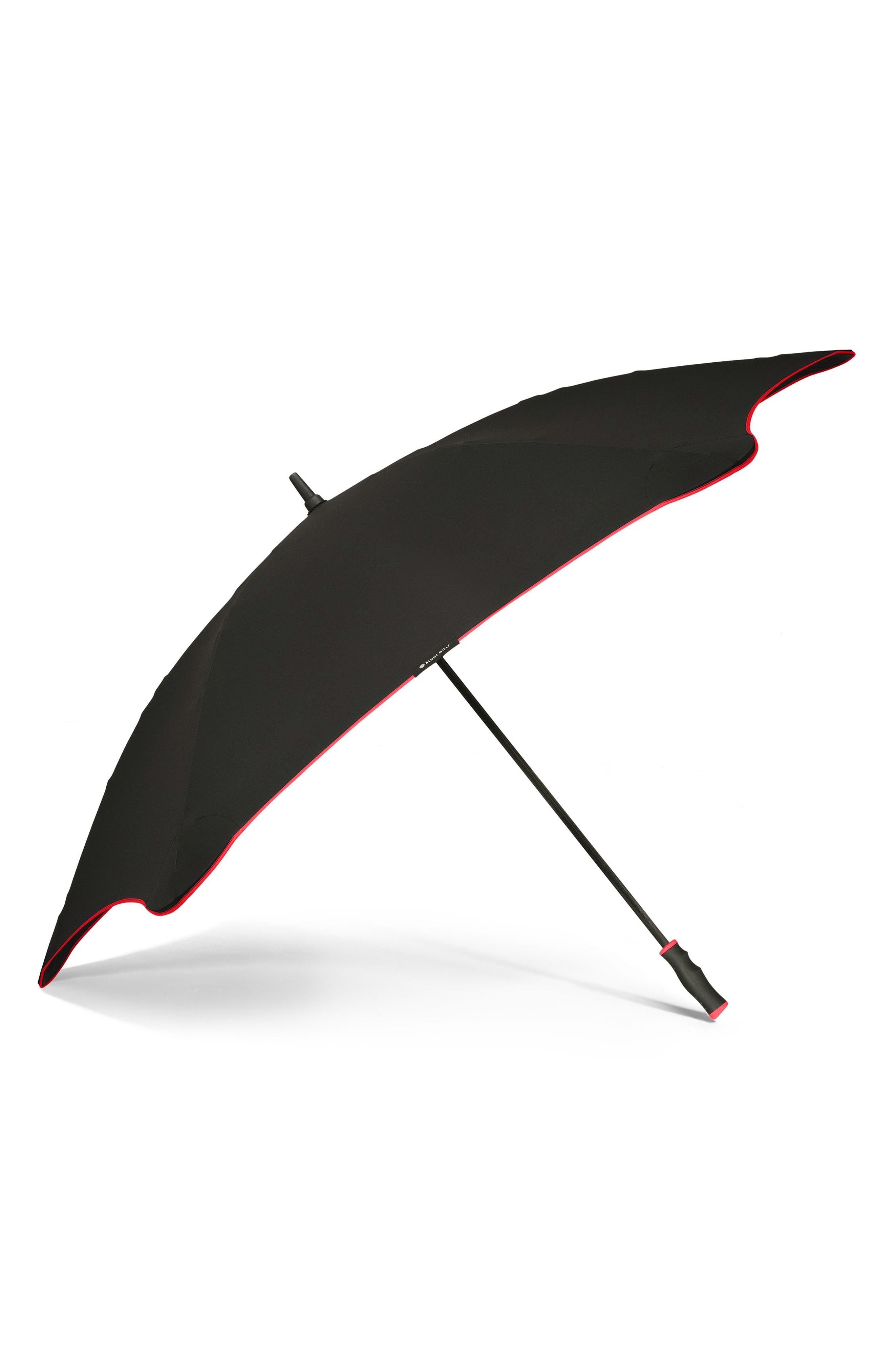 Golf Umbrella,                             Alternate thumbnail 3, color,                             BLACK