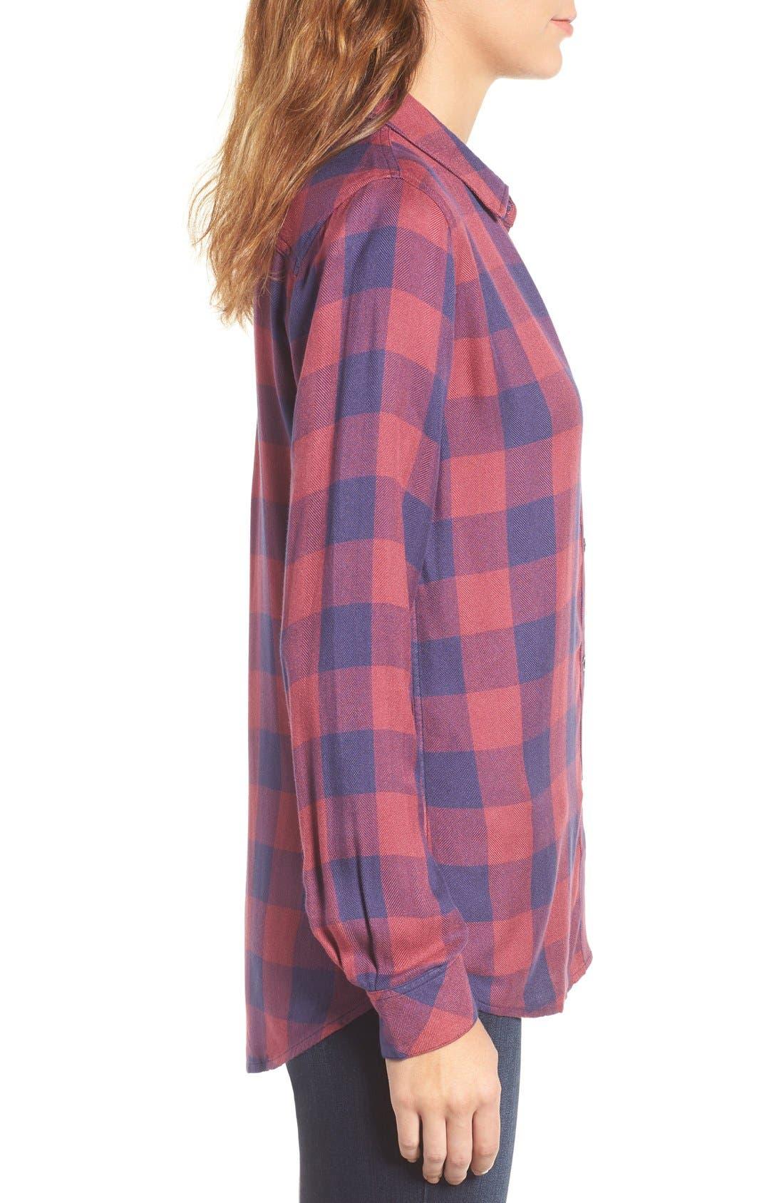 Hunter Plaid Shirt,                             Alternate thumbnail 409, color,
