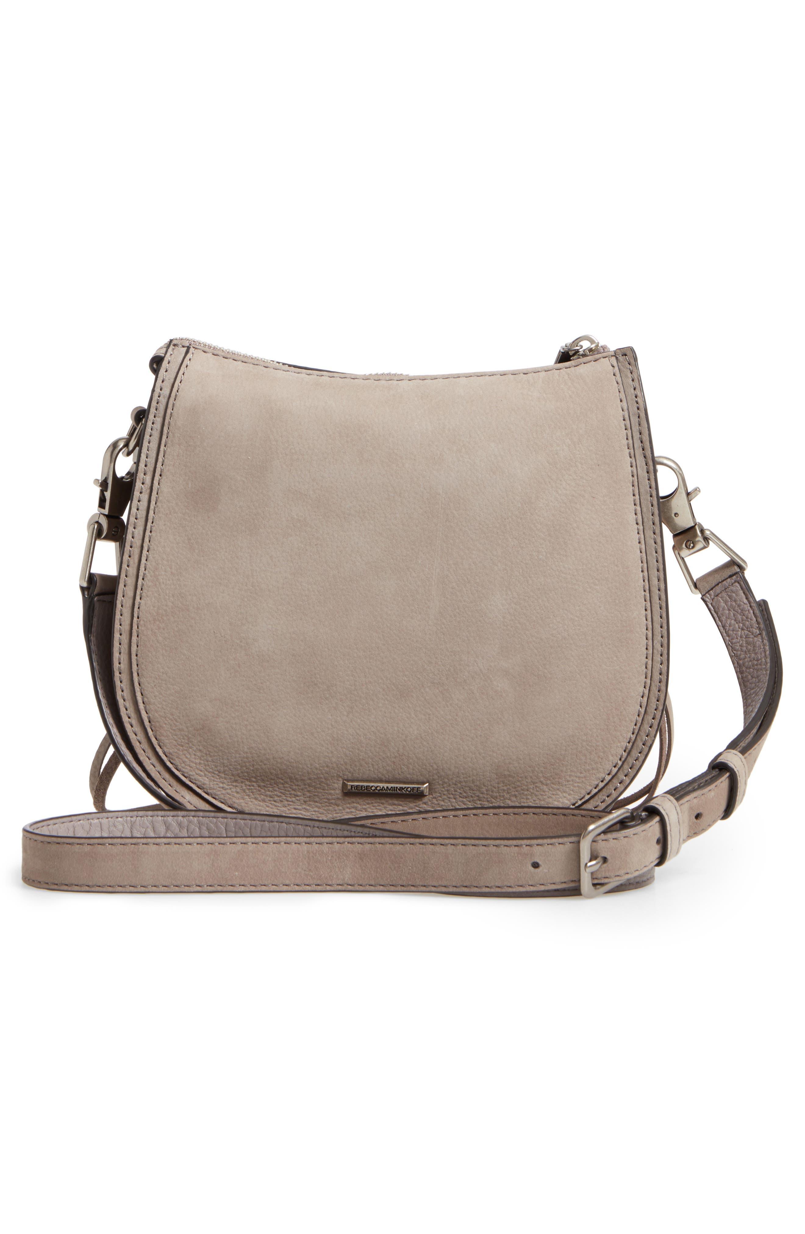 Mini Vanity Saddle Bag,                             Alternate thumbnail 3, color,                             020
