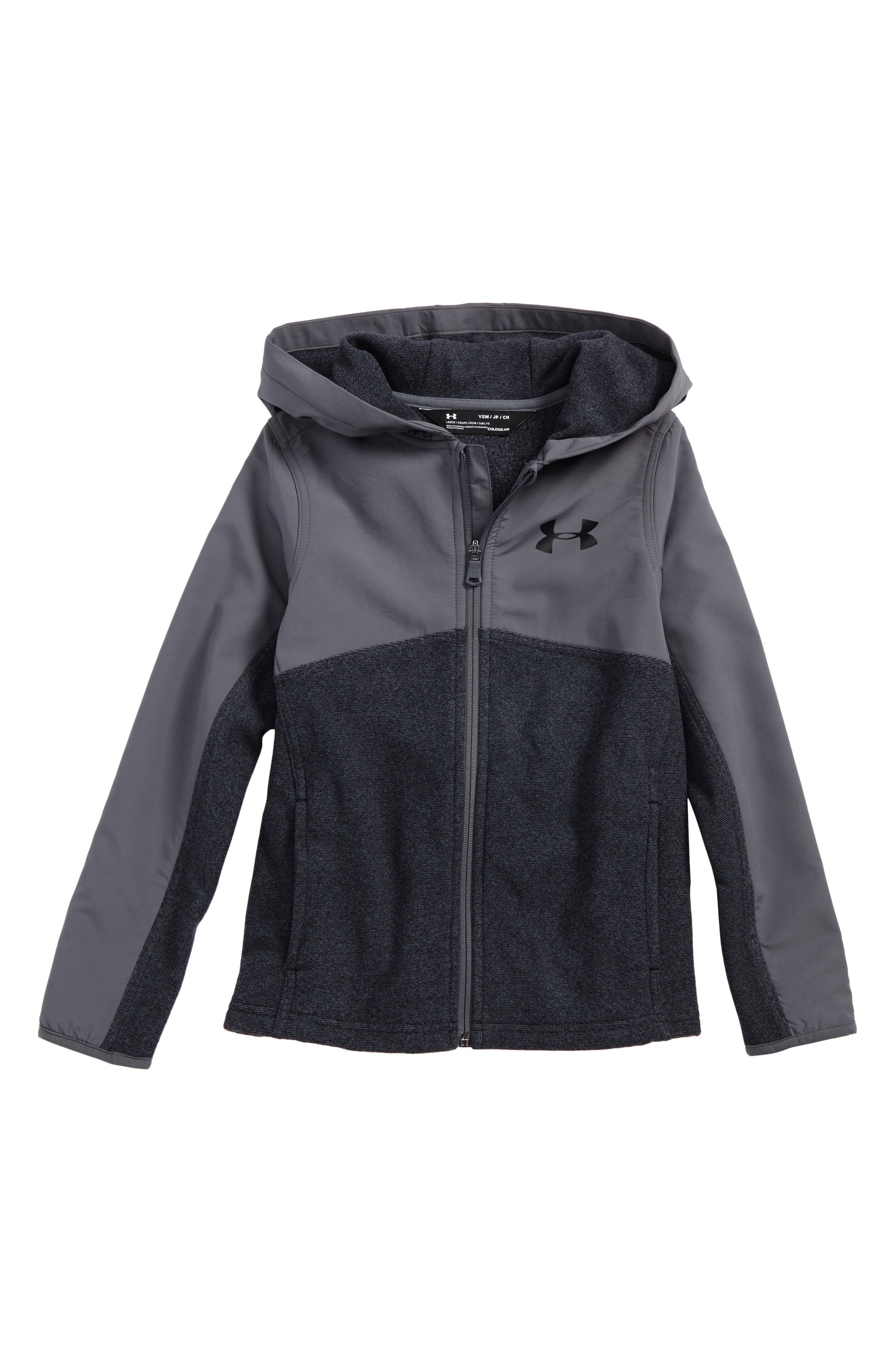 Under Armor Phenom ColdGear<sup>®</sup> Zip Hoodie,                             Main thumbnail 1, color,