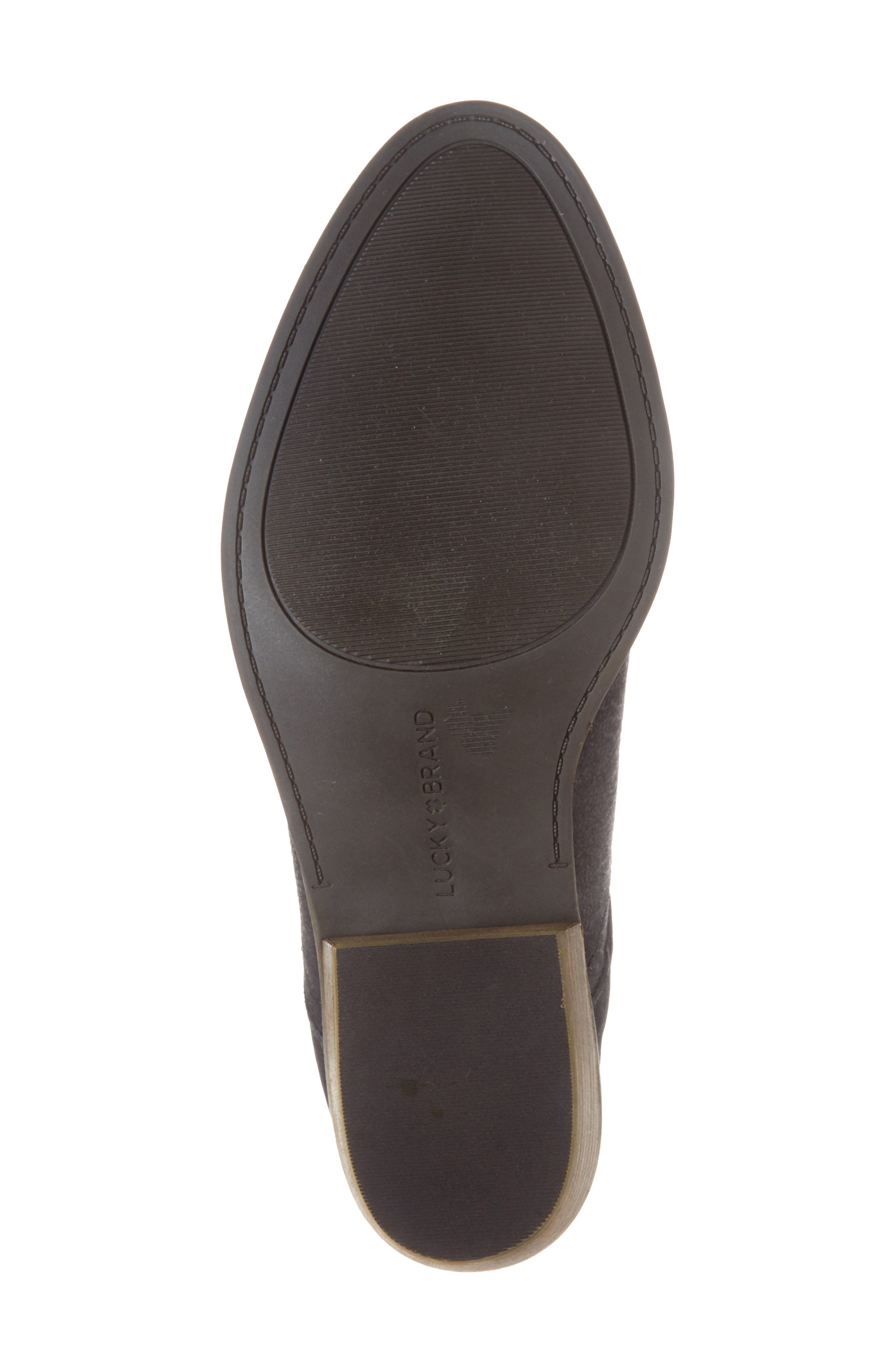 LUCKY BRAND,                             Fausst Bootie,                             Alternate thumbnail 6, color,                             001