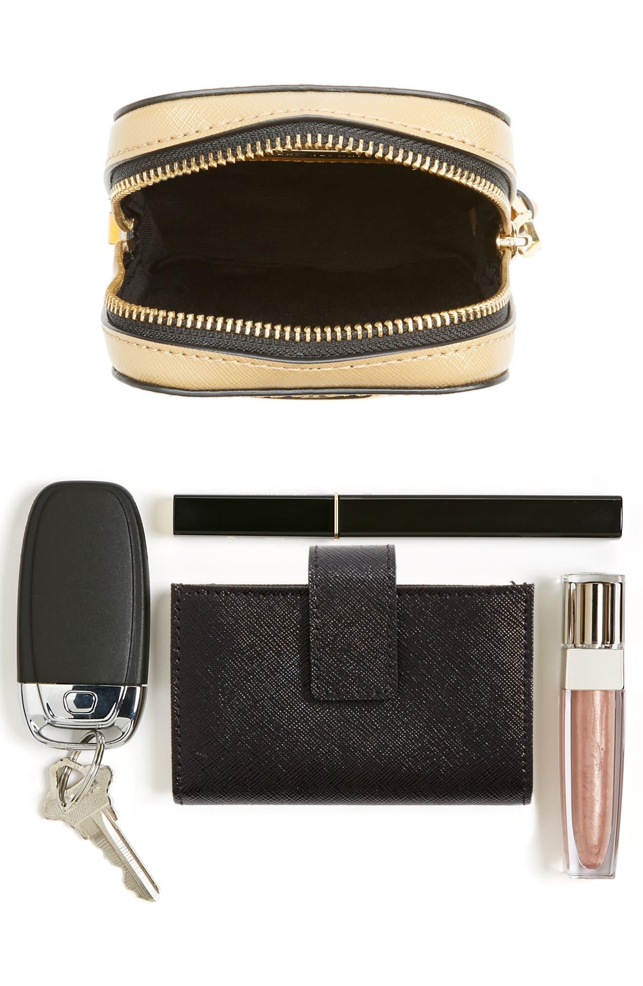 Hot Shot Saffiano Leather Shoulder Bag,                             Alternate thumbnail 25, color,