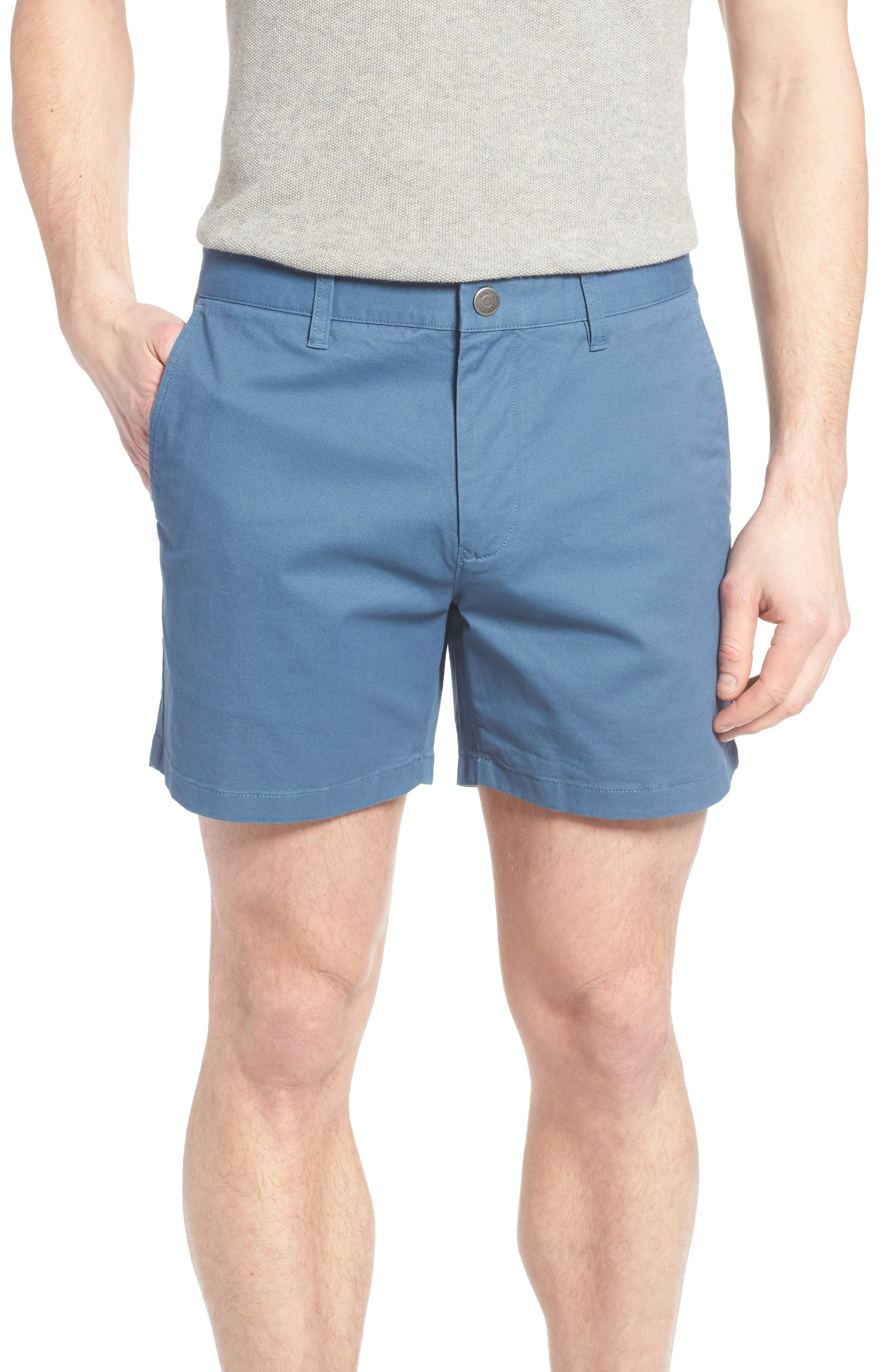 Stretch Washed Chino 5-Inch Shorts,                             Main thumbnail 27, color,