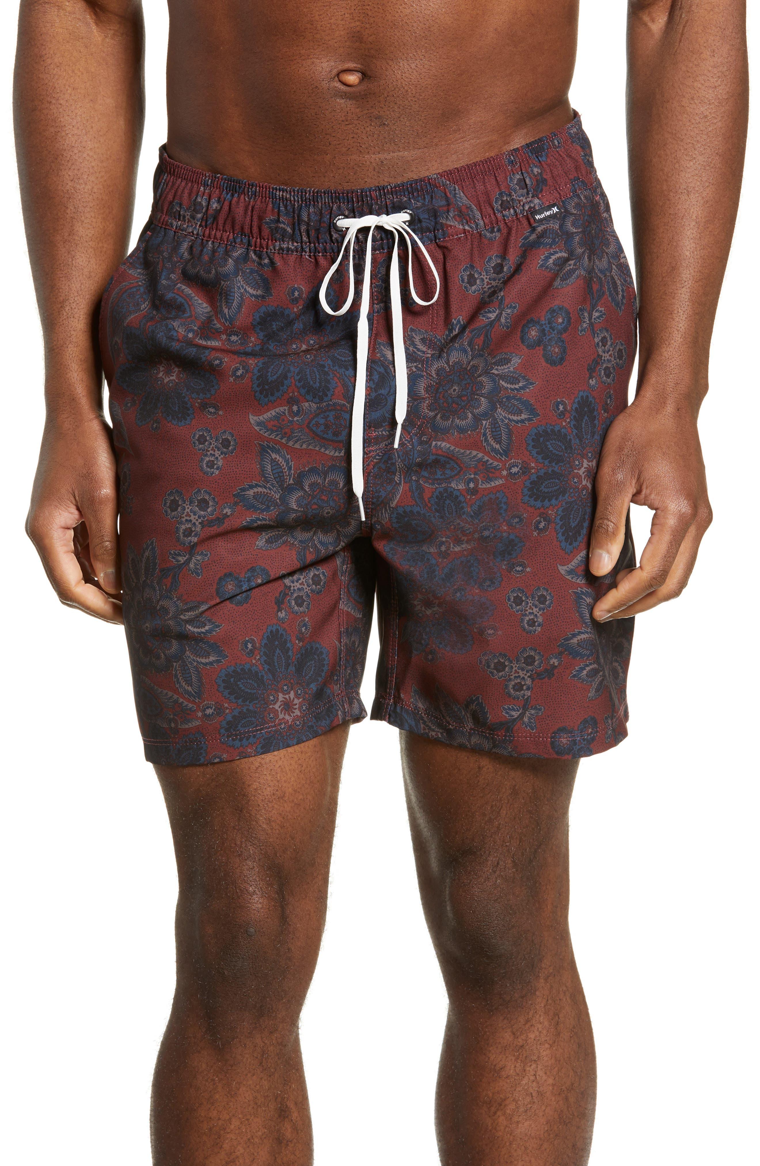 Hurley Melody Volley Shorts, Brown