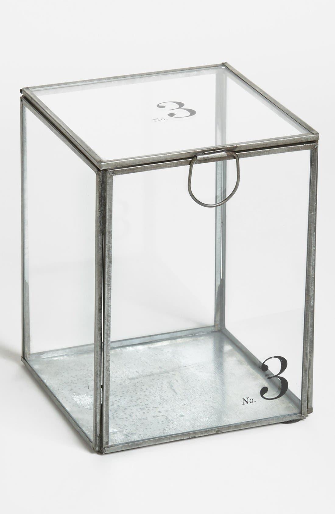 'Alchemy - No. 3' Decorative Glass Container,                         Main,                         color, 000
