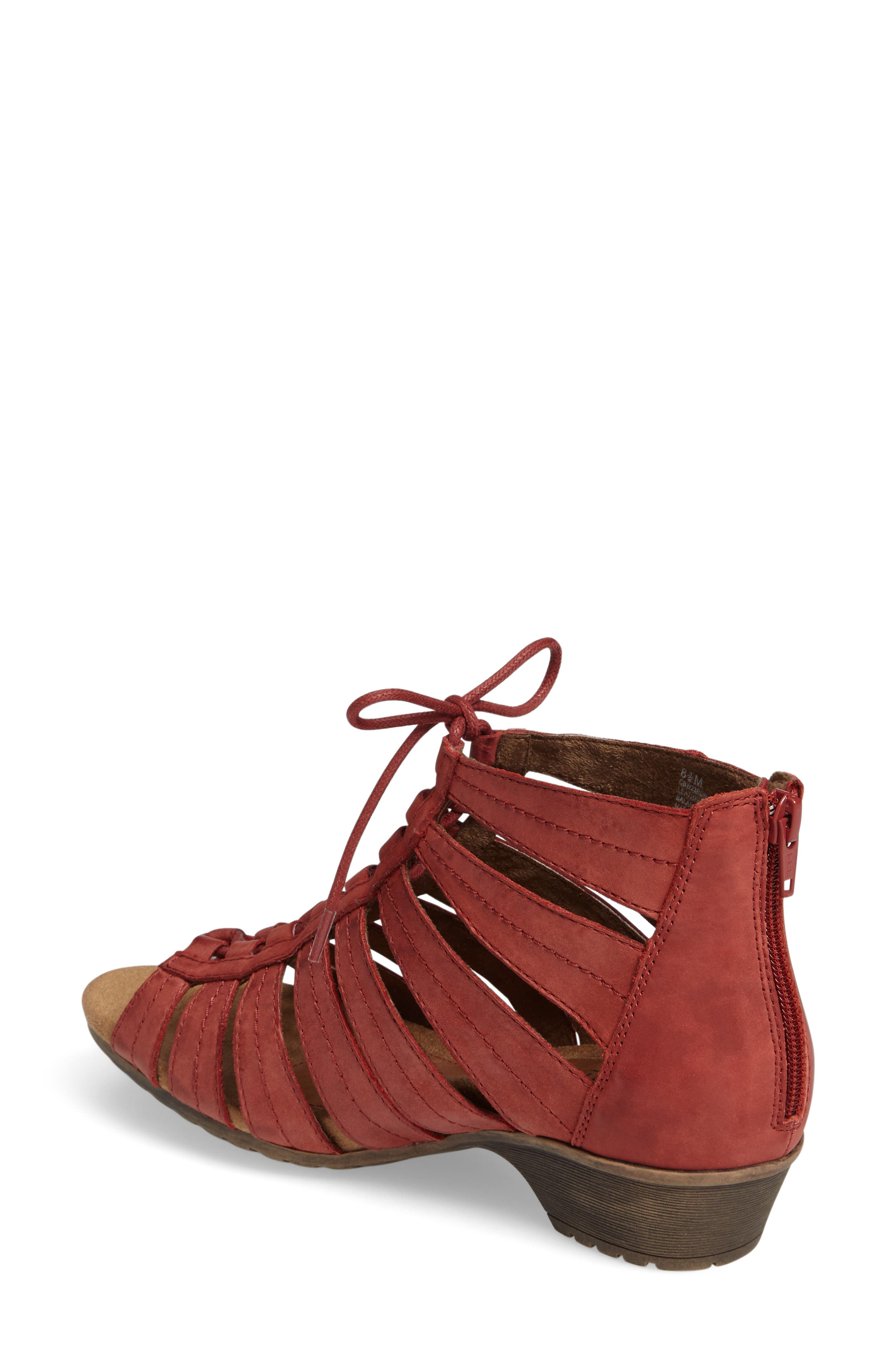 'Gabby' Lace-Up Sandal,                             Alternate thumbnail 16, color,