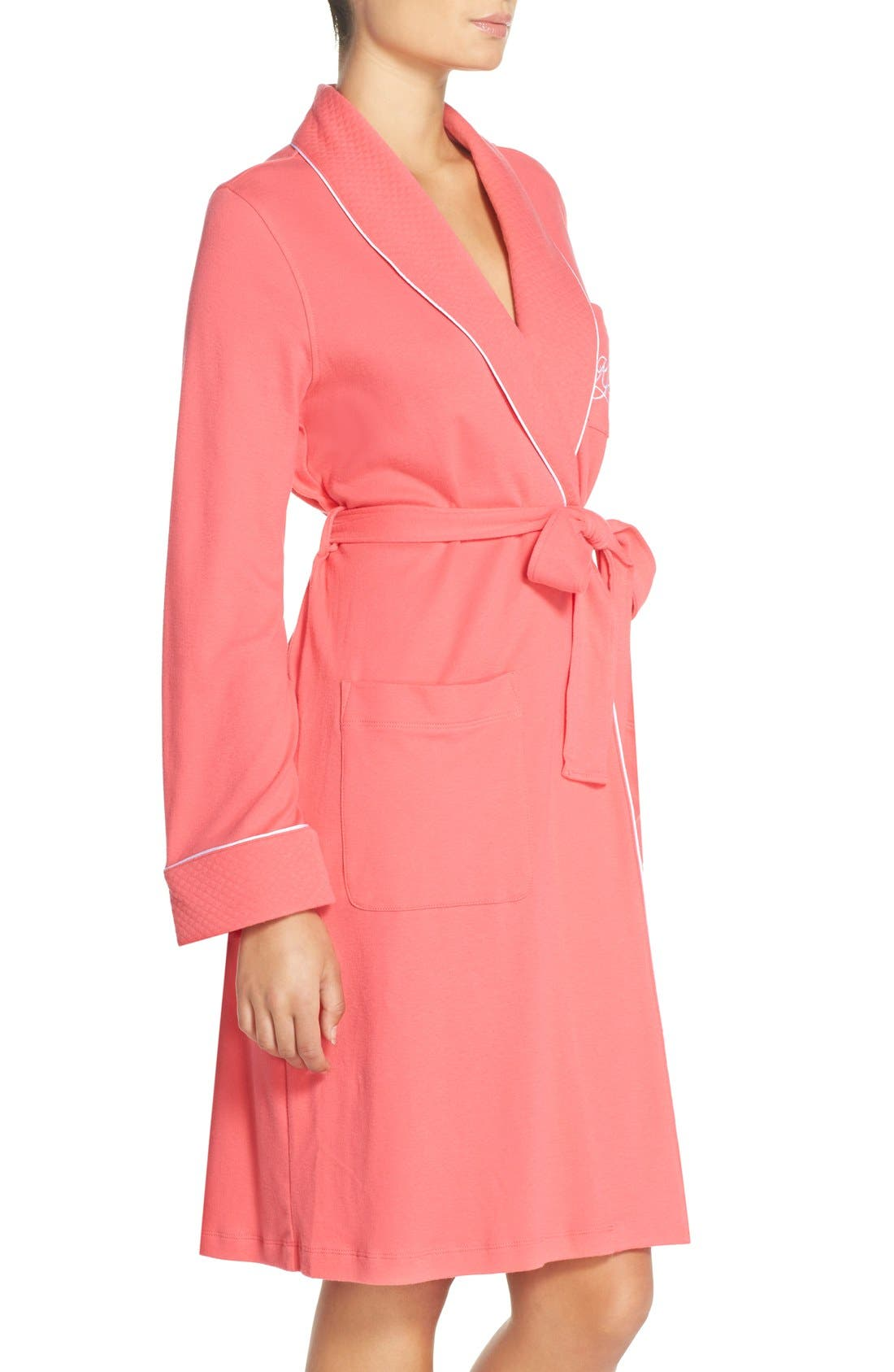 Quilted Collar Robe,                             Alternate thumbnail 56, color,