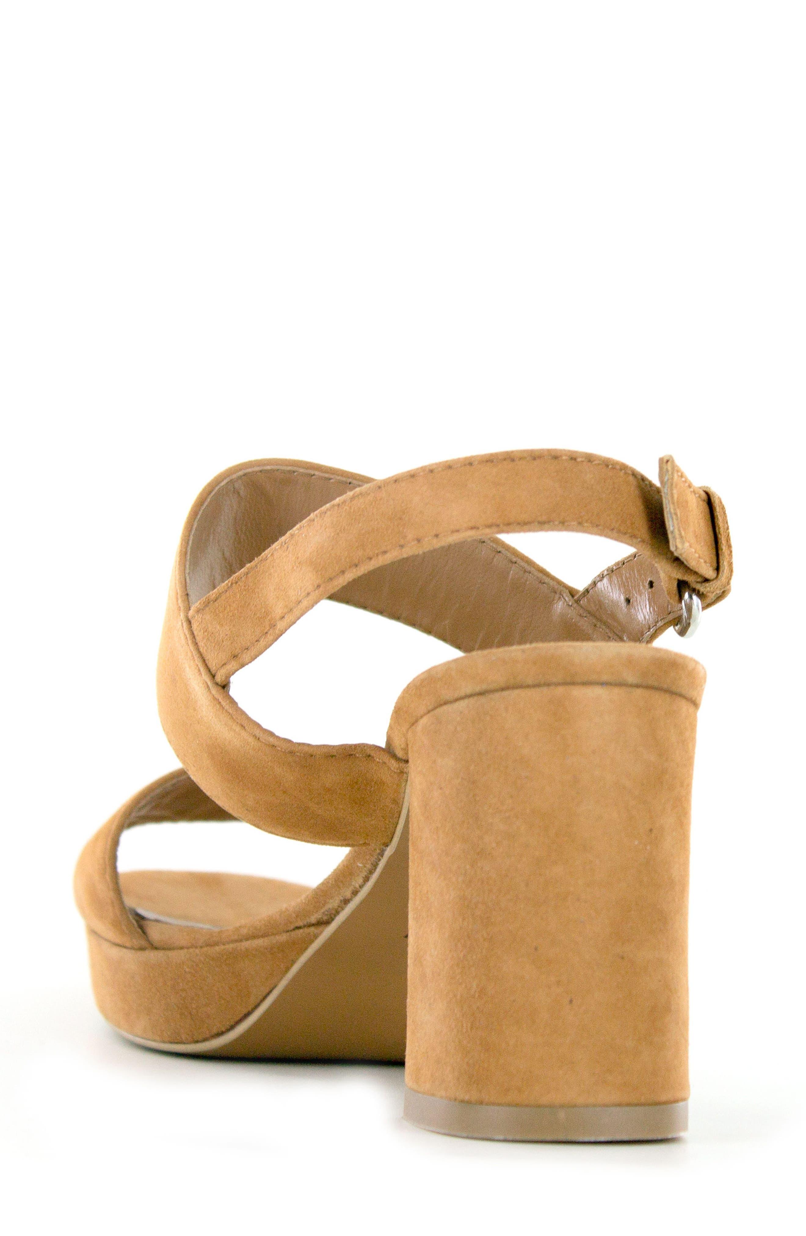 Summit Emilia Block Heel Sandal,                             Alternate thumbnail 6, color,