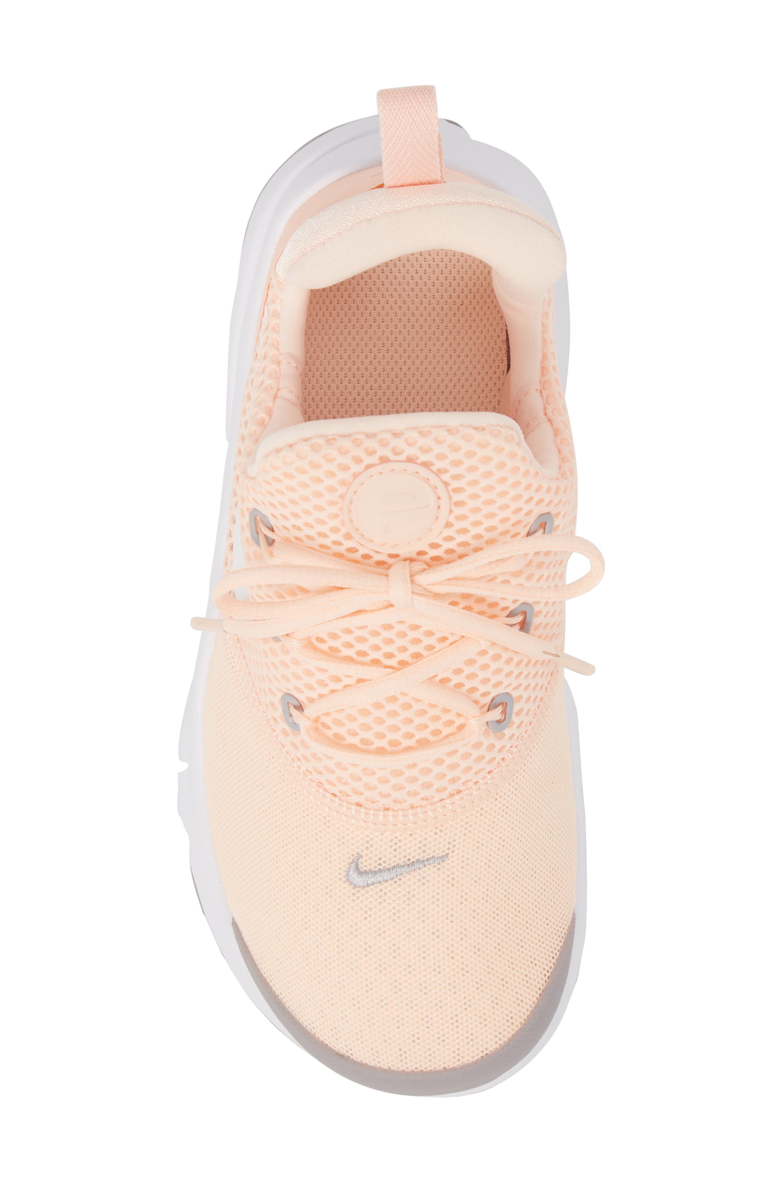 Presto Fly Sneaker,                             Alternate thumbnail 5, color,                             CRIMSON TINT/ WHITE/ GREY