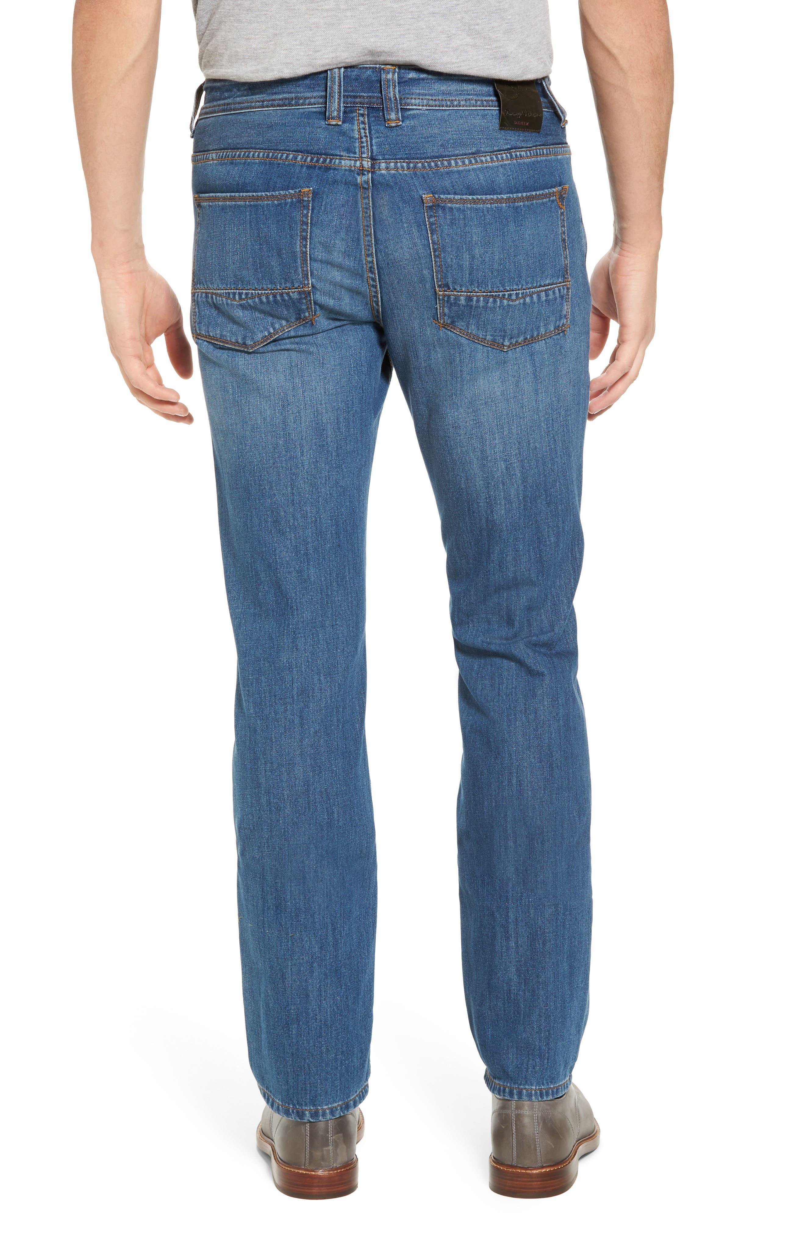 Bardabos Straight Leg Jeans,                             Alternate thumbnail 3, color,                             400