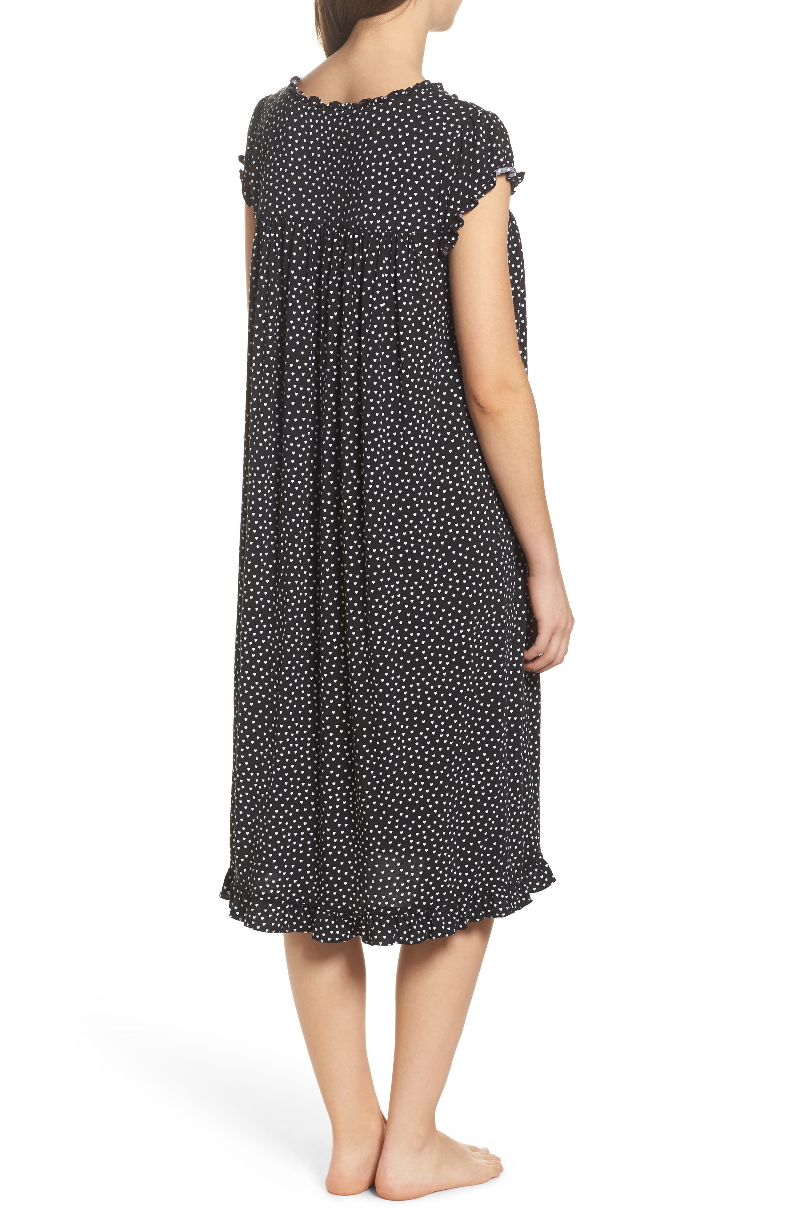 Modal Jersey Nightgown,                             Alternate thumbnail 2, color,                             001