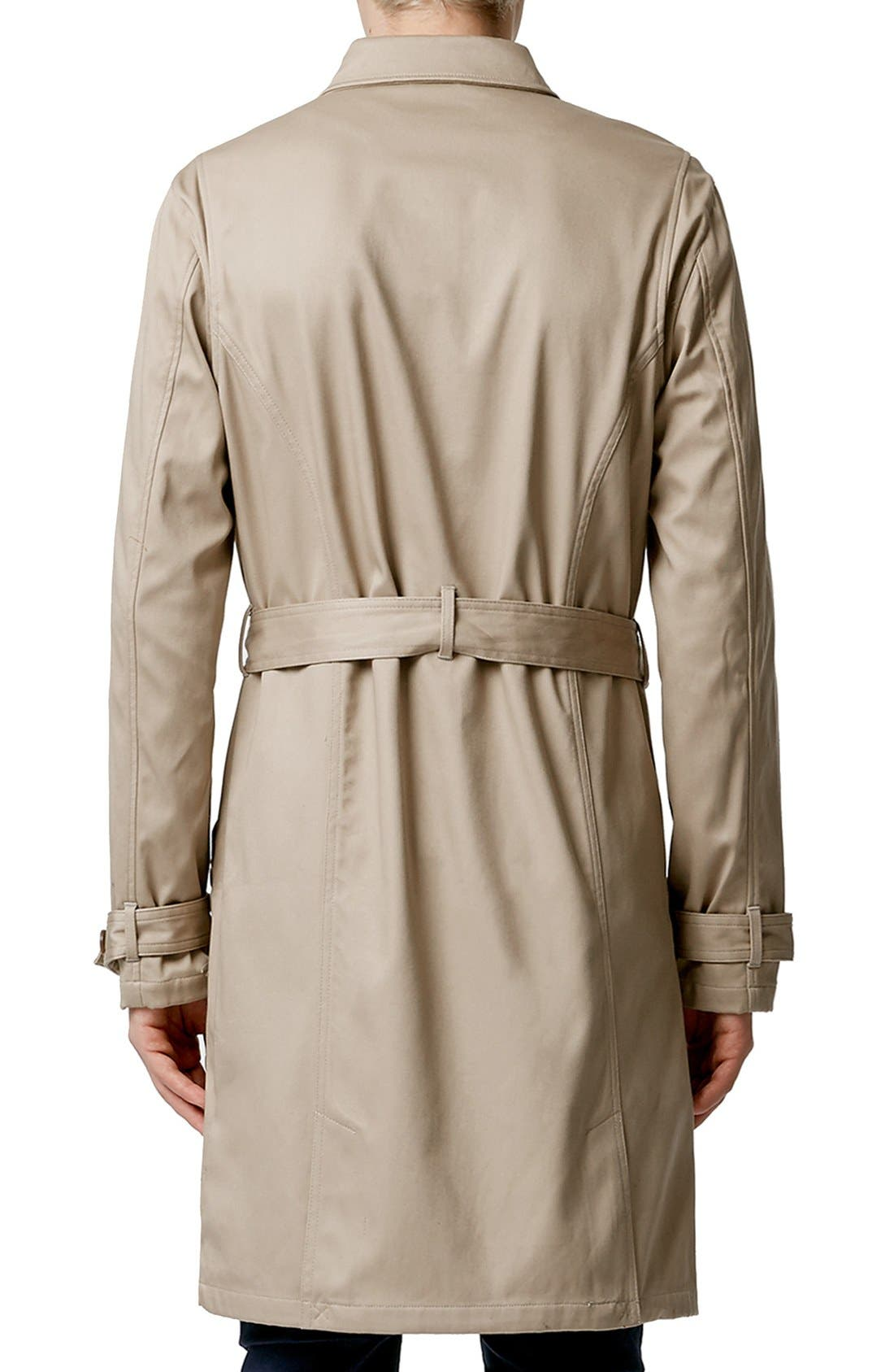 Double Breasted Trench Coat,                             Alternate thumbnail 2, color,                             250