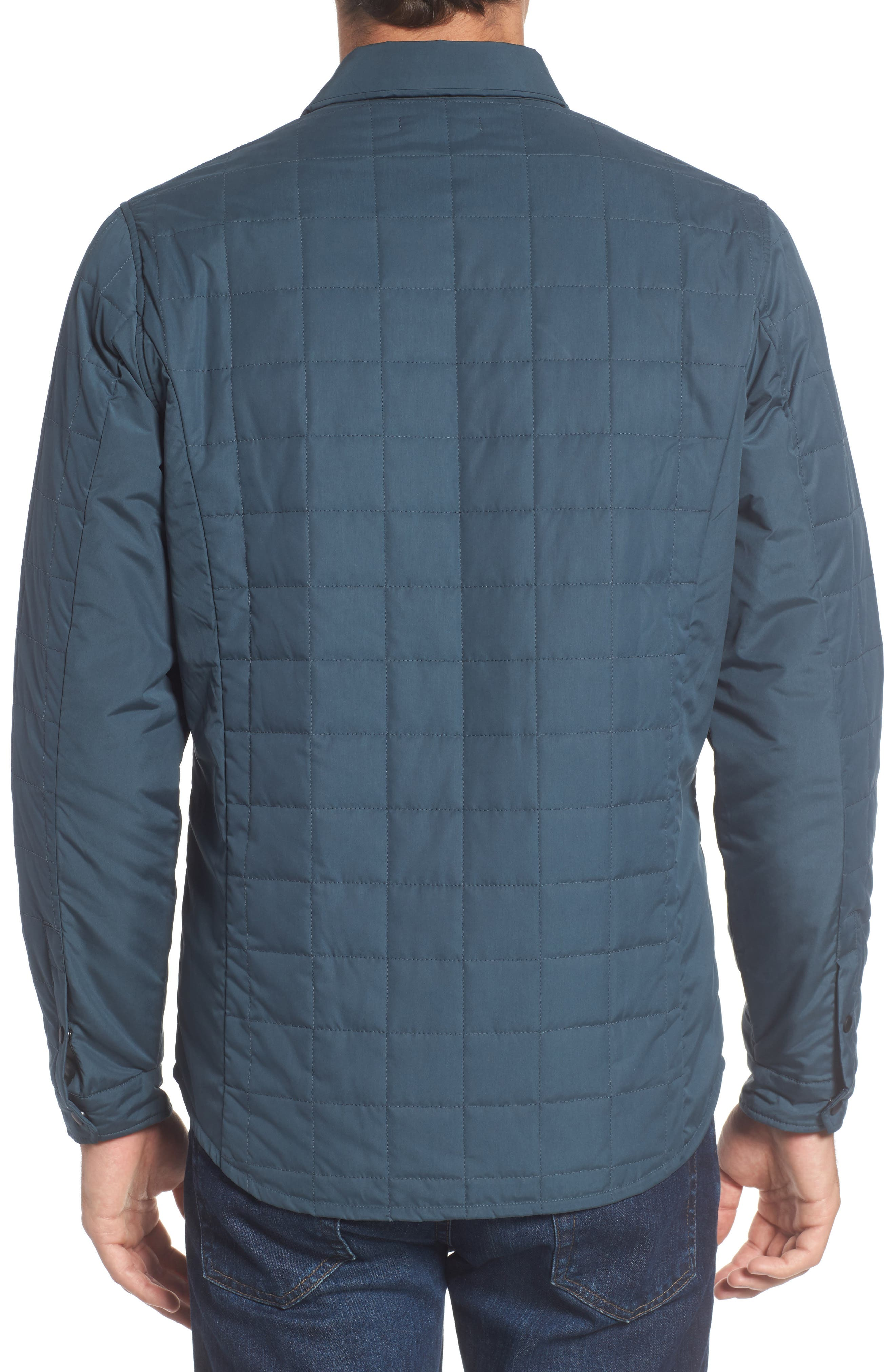 Bixby Quilted Shirt Jacket,                             Alternate thumbnail 2, color,                             FLOOD