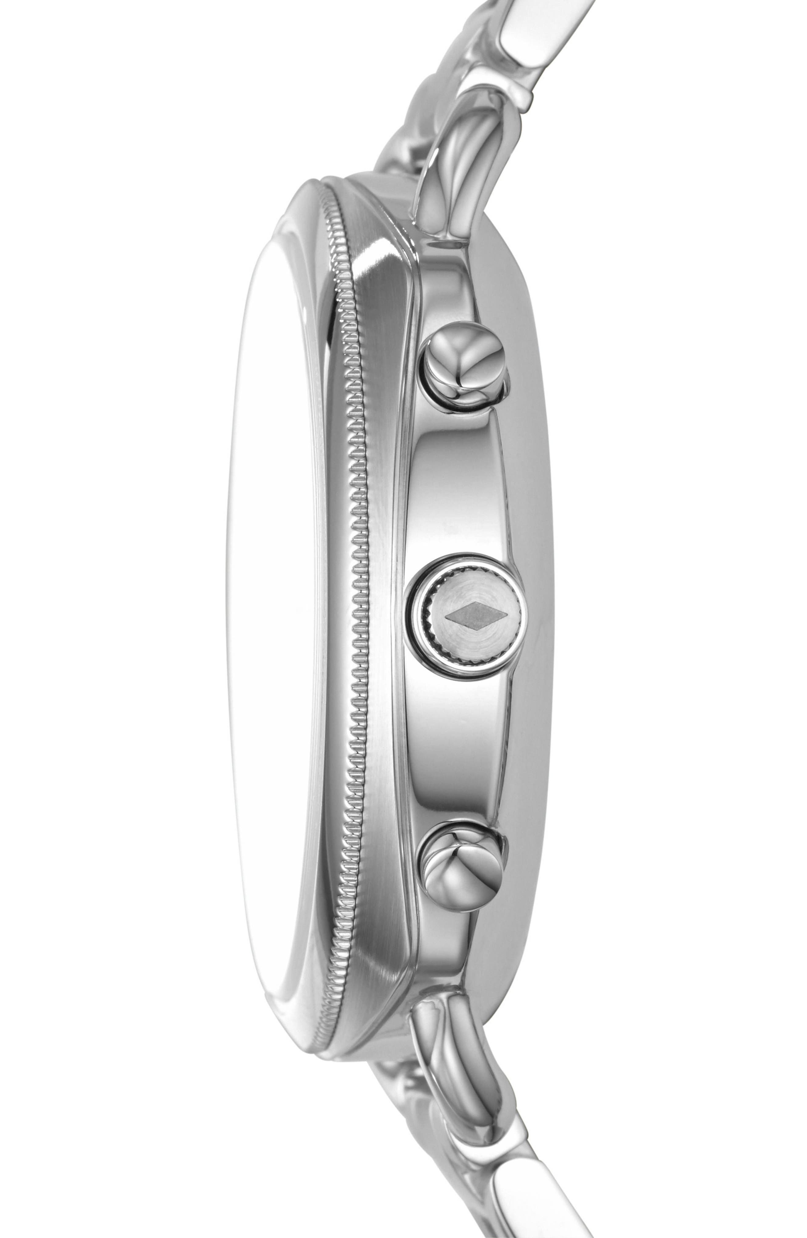 Accomplice Smart Bracelet Watch, 38mm,                             Alternate thumbnail 3, color,                             NO COLOR